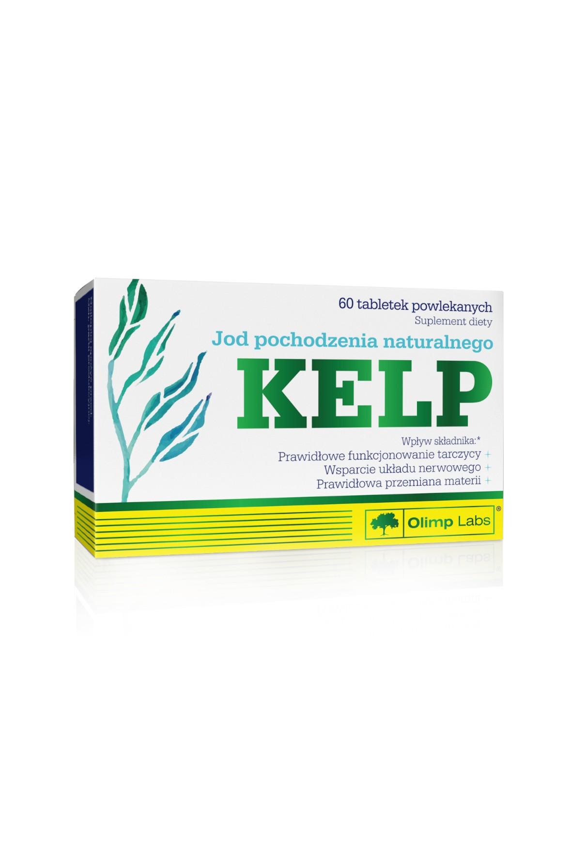 OLIMP Kelp- tarczyca-układ nerwowy- przemiana materii 60 tabletek