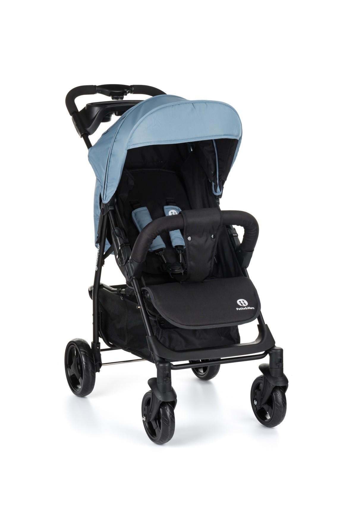 Wózek spacerowy Easy Steel Blue