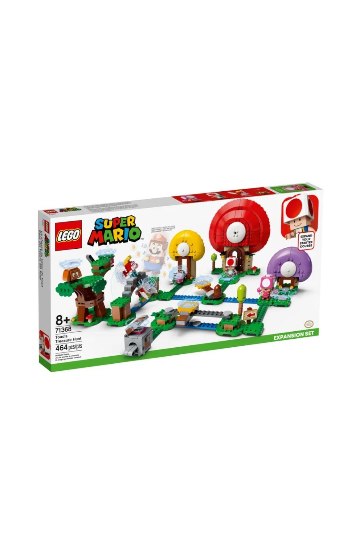 LEGO® Super Mario™ - 464 elementów wiek 8+