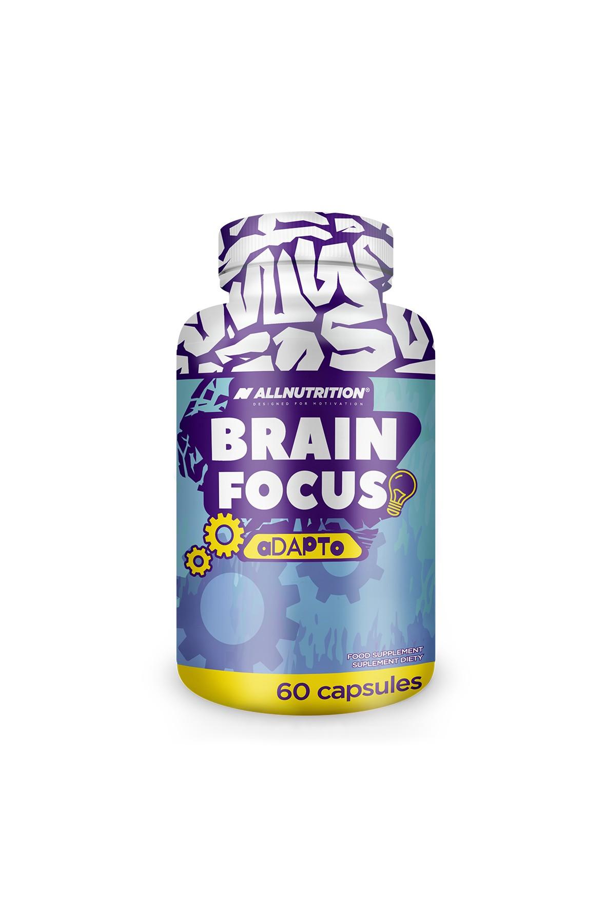 Suplementy diety - Allnutrition  Brain Focus - 60 kapsułek