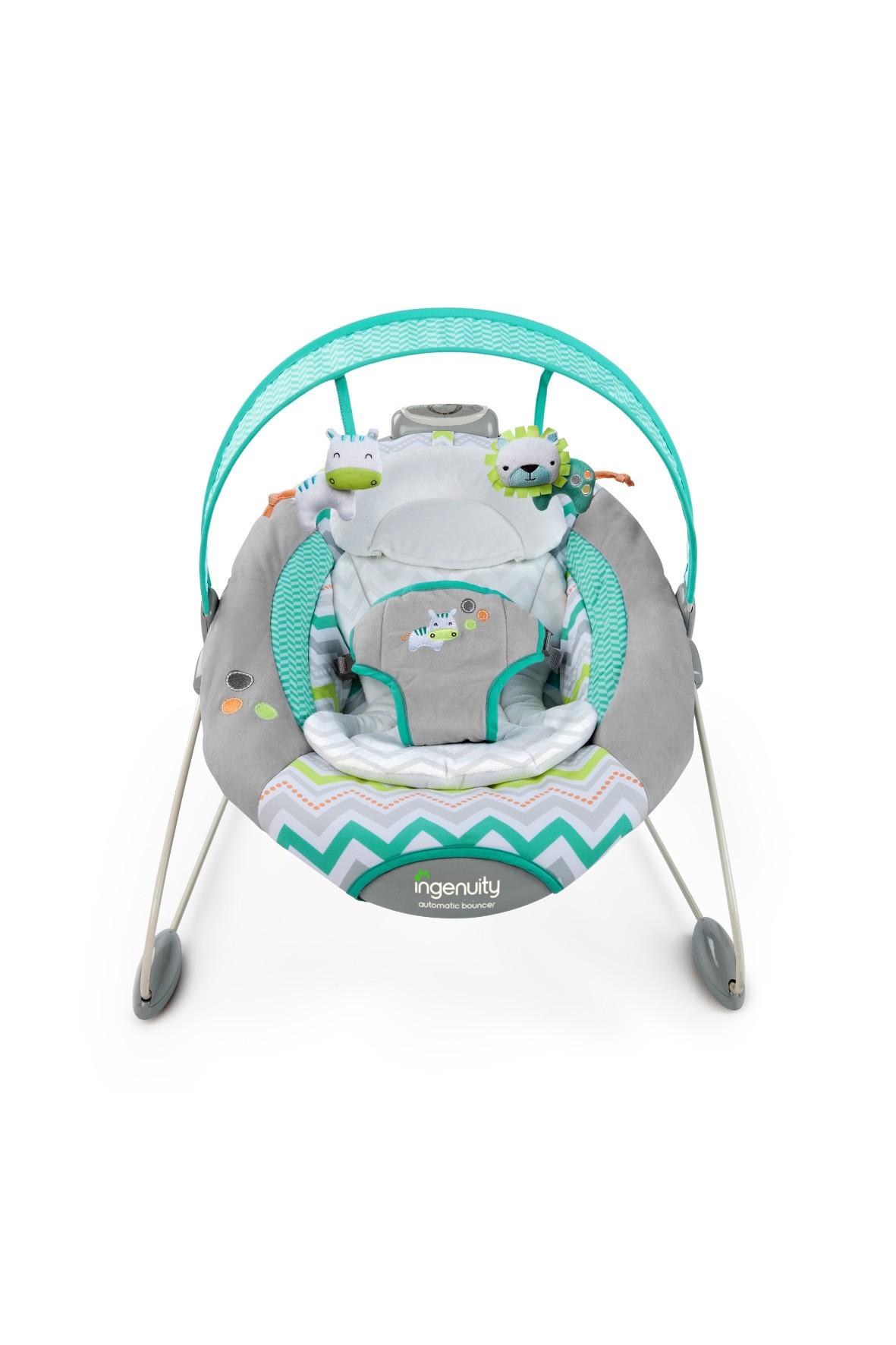 Leżaczek hybrydowy dla niemowlaka 0-9kg
