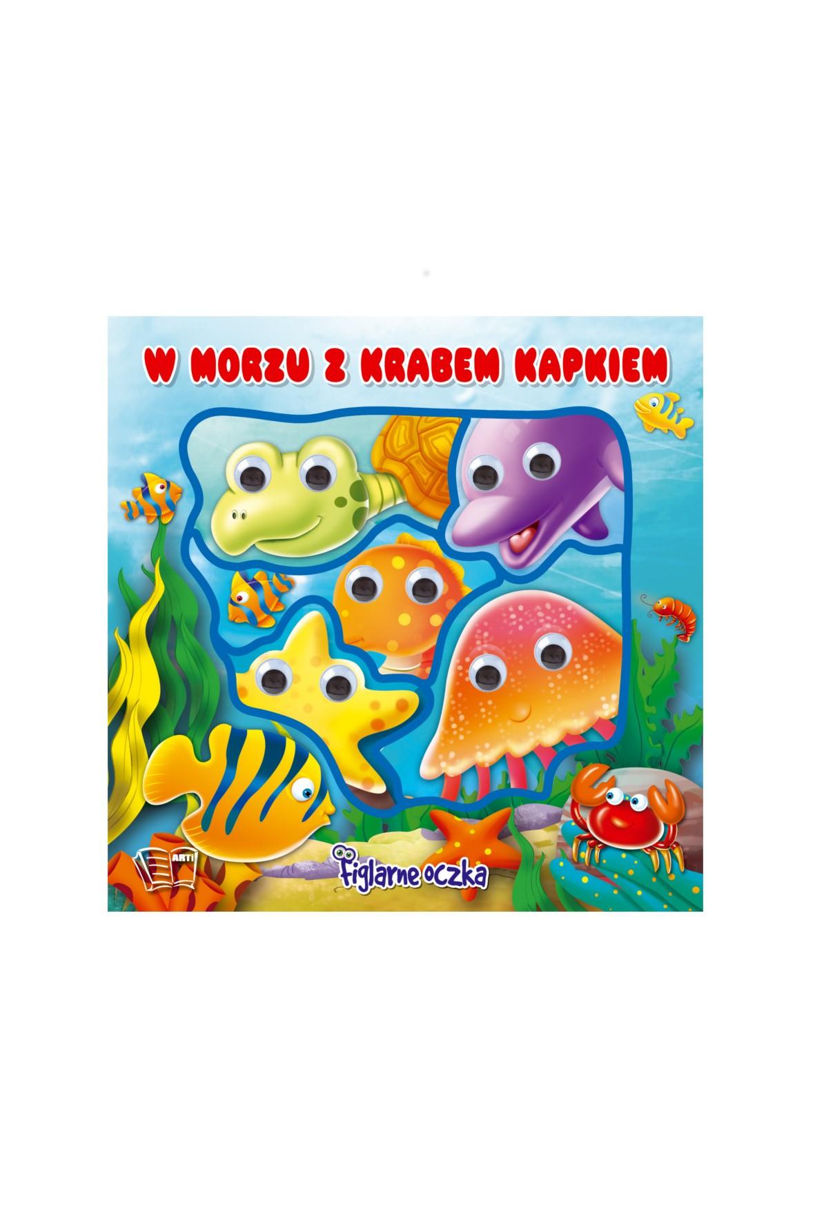 Książka W morzu z Krabem Kapkiem