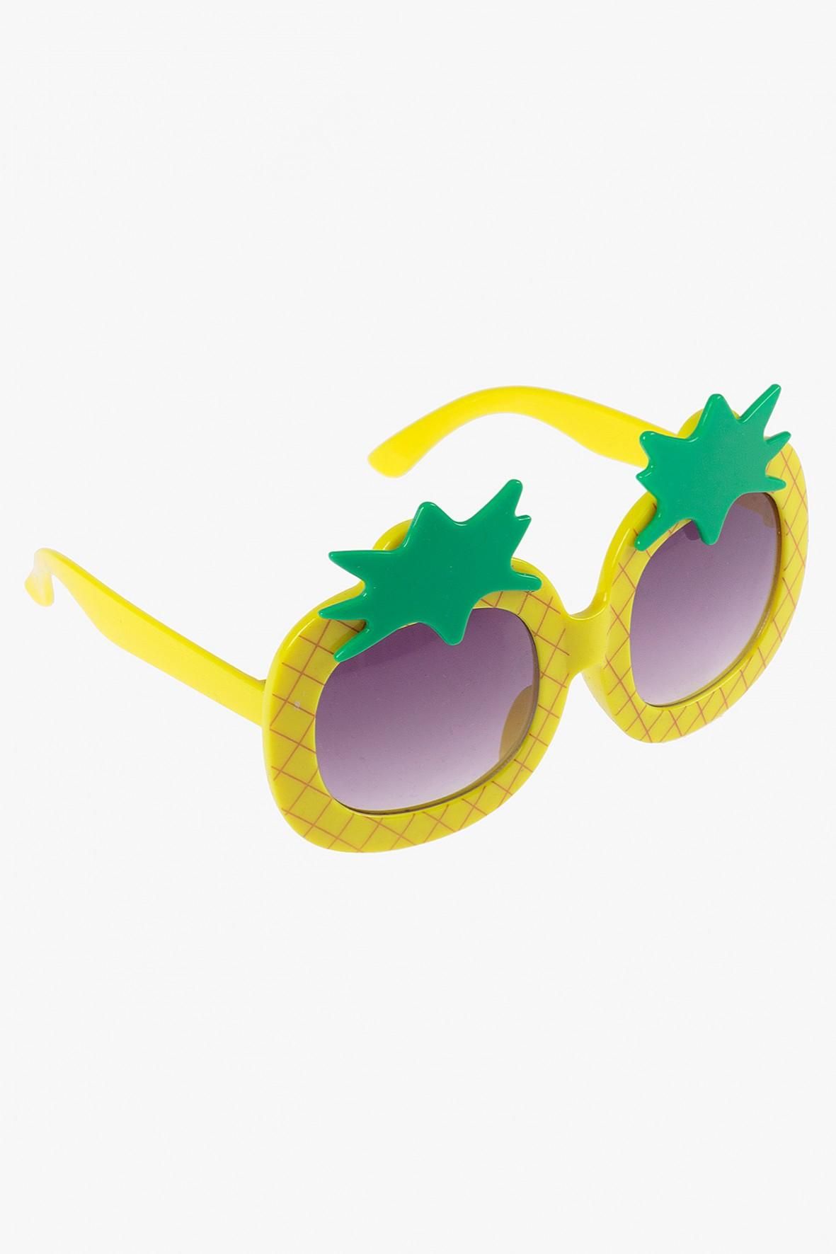 Okulary przeciwsłoneczne w kształcie ananasów