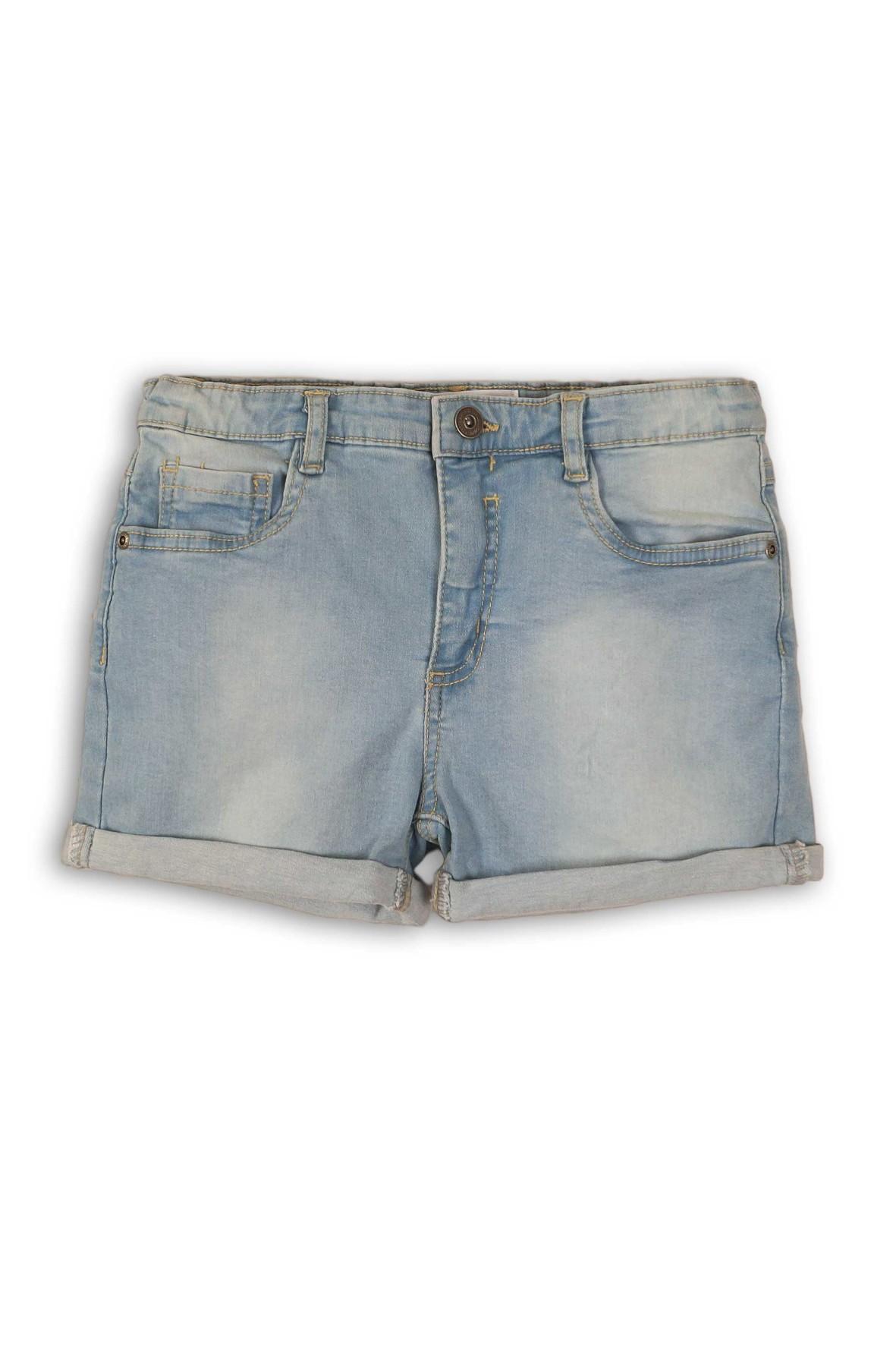 Spodenki jeansowe dziewczęce niebieskie