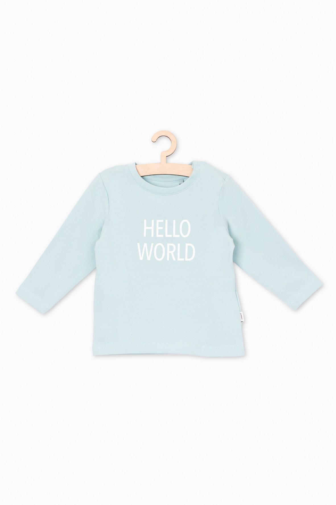 Bluzka dla niemowlaka- długi rękaw
