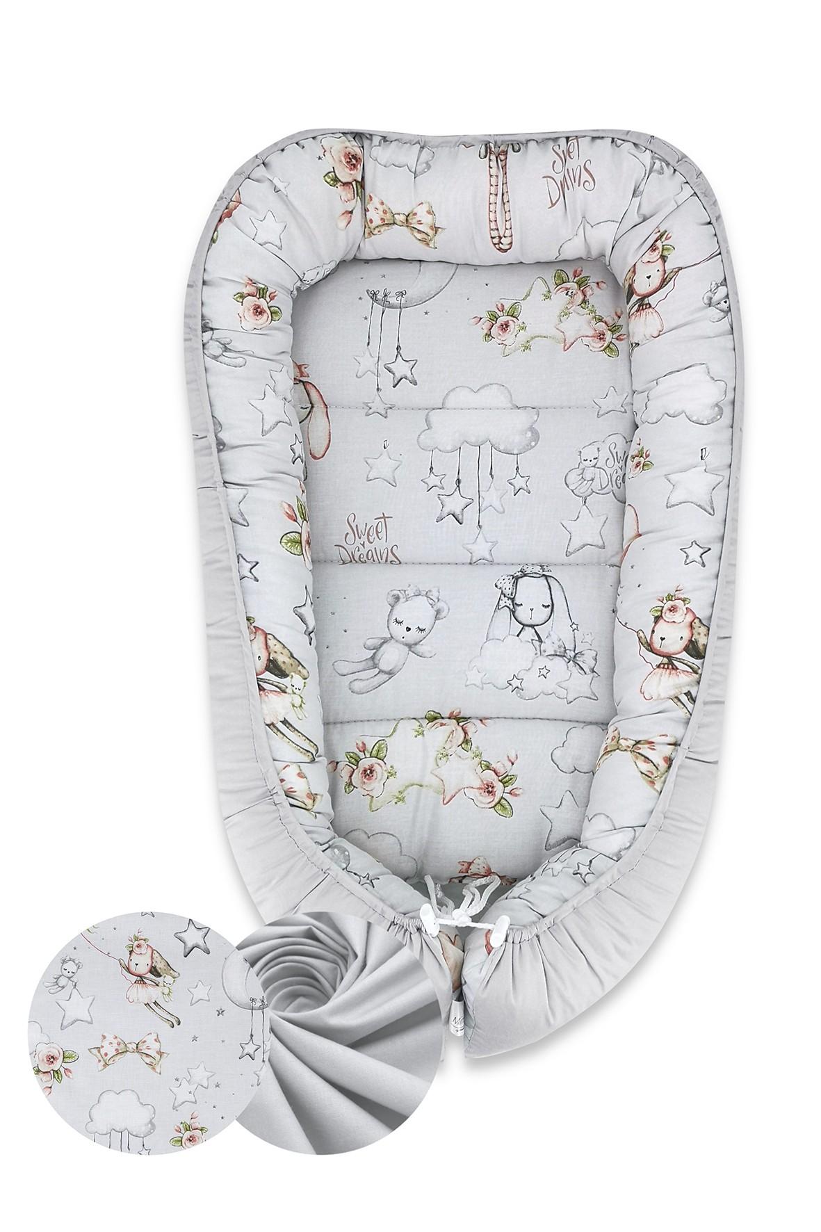 Kokon niemowlęcy 55x75cm - Kolorowe Sny