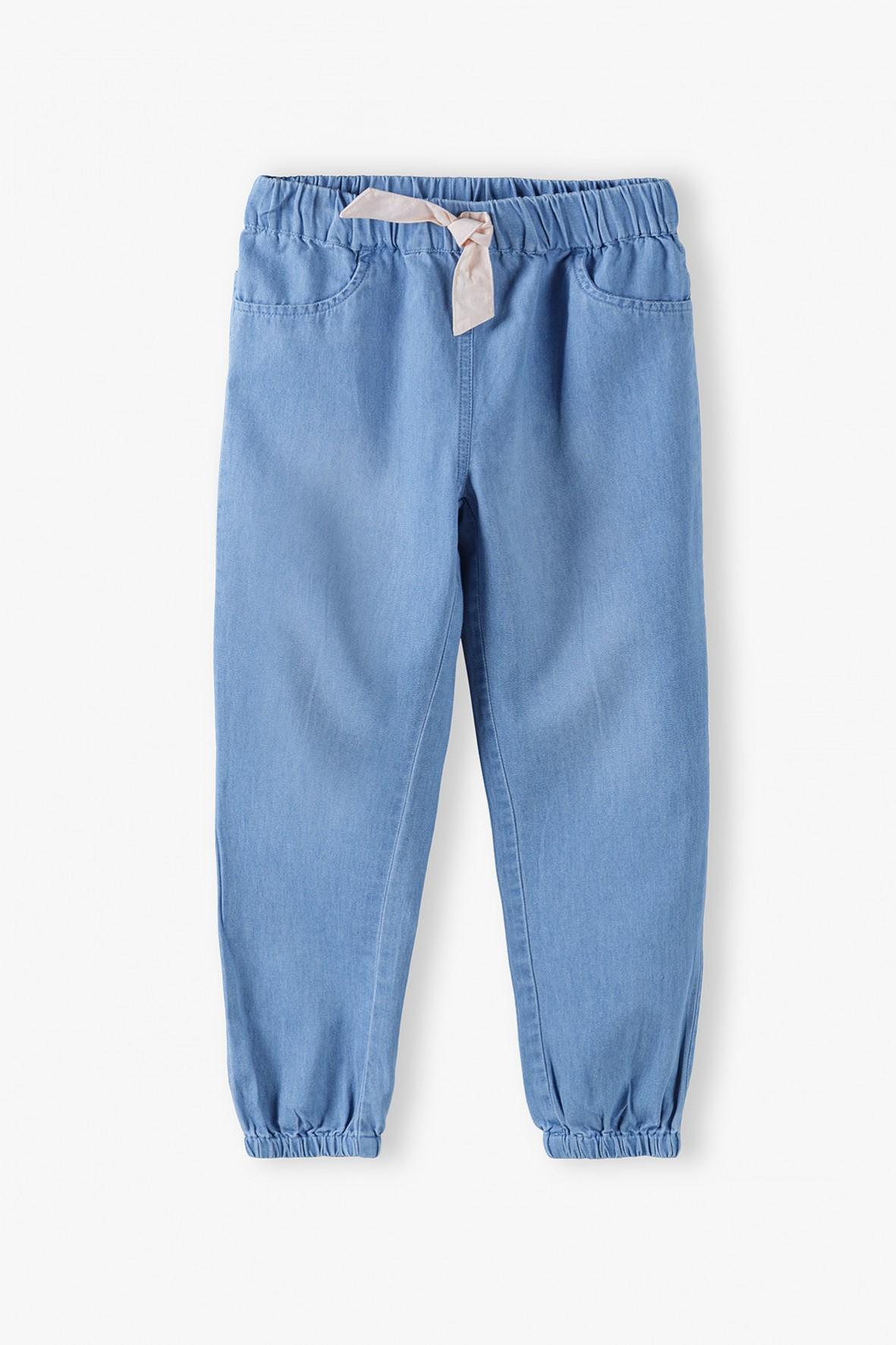 Spodnie dziewczęce - niebieskie