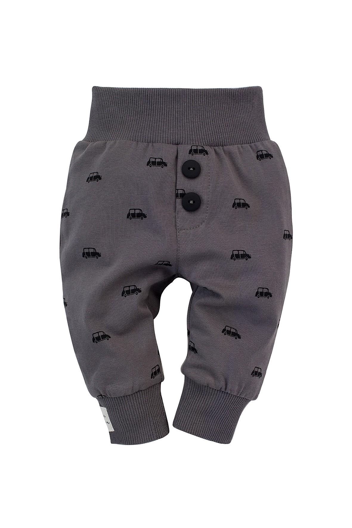 Spodnie dresowe Little Car - szare