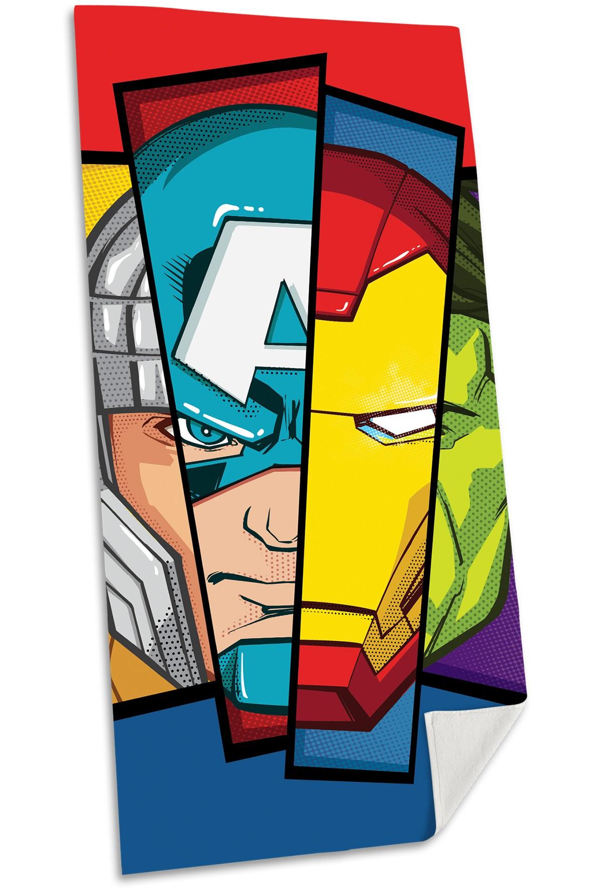 Avengers ręcznik bawełniany 70x140 cm