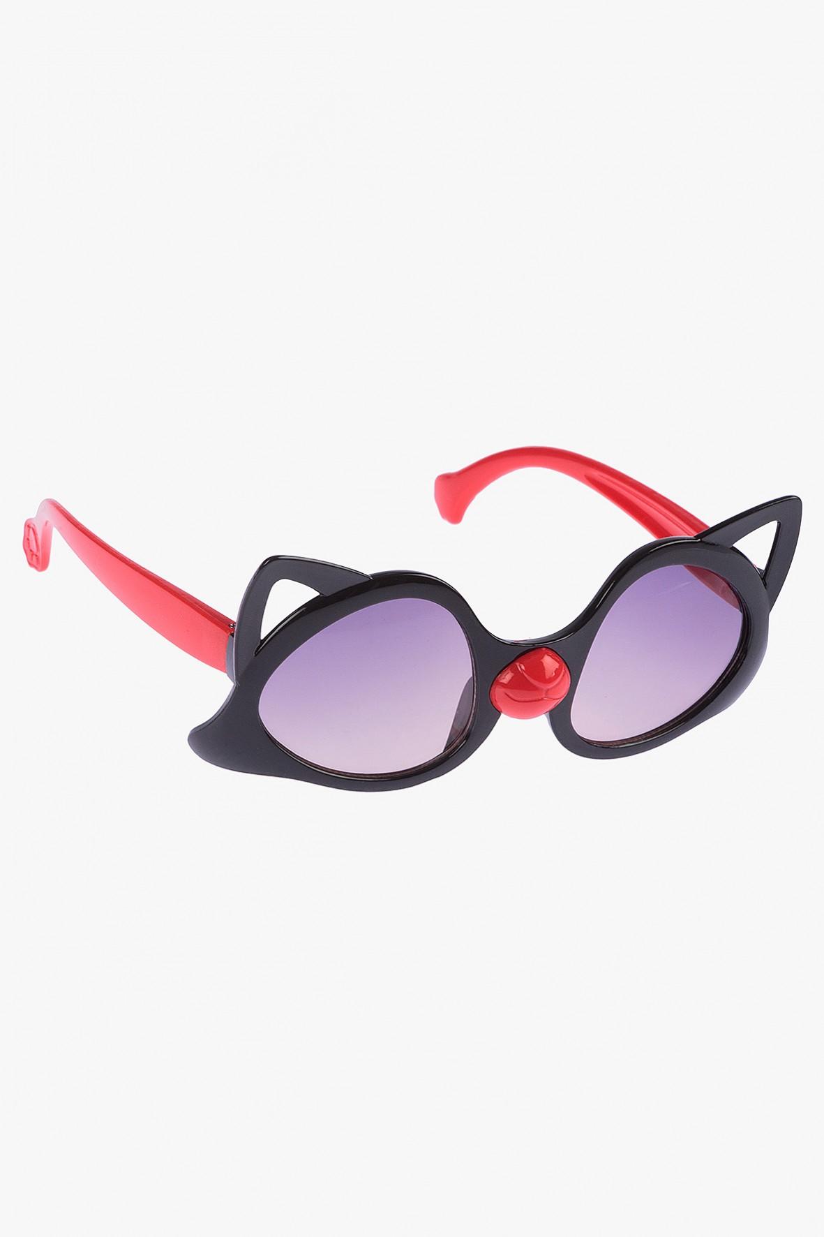 Okulary przeciwsłoneczne w kształcie kota