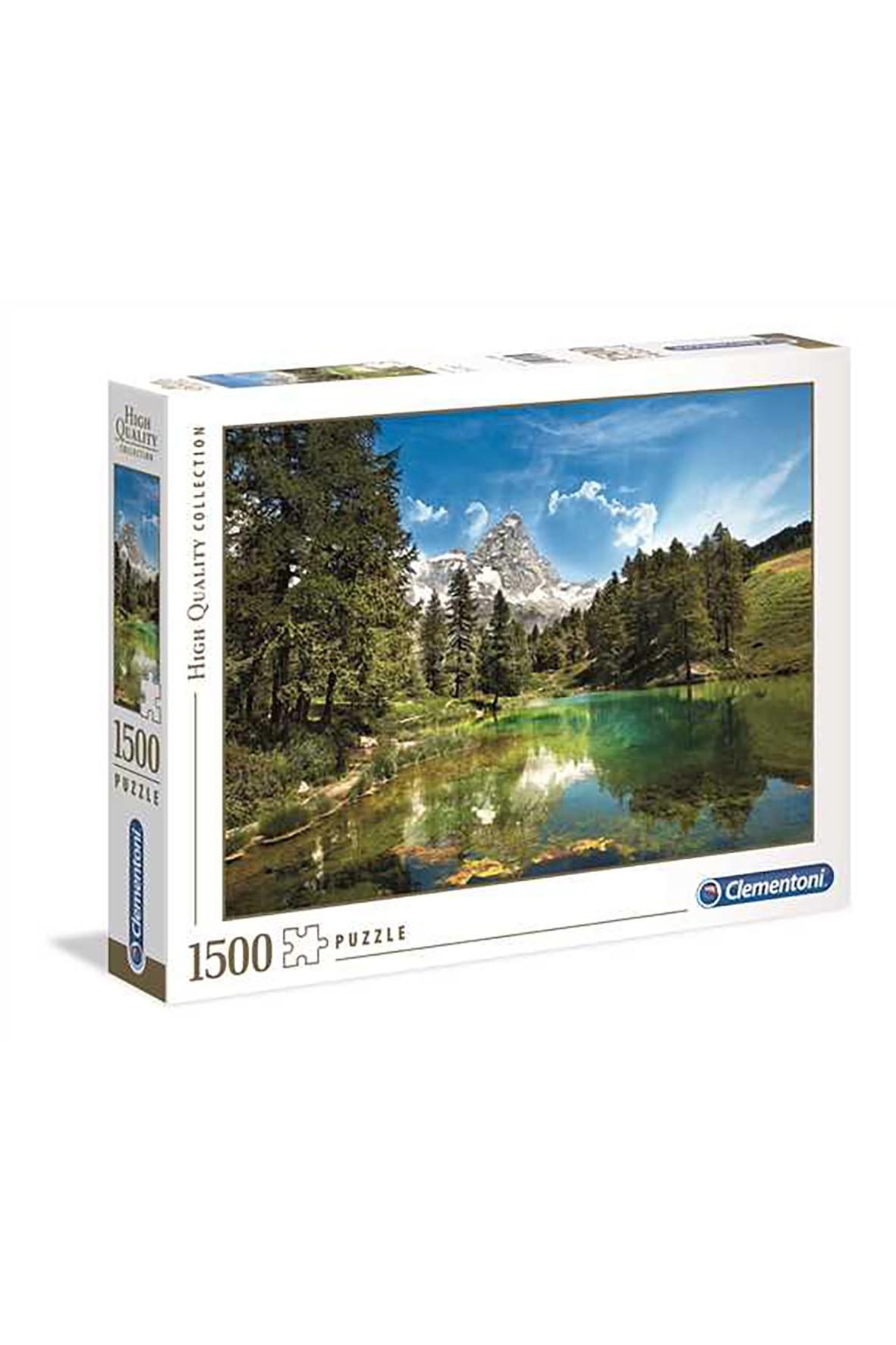 Puzzle Clementoni Niebieskie jezioro - 1500 elementów