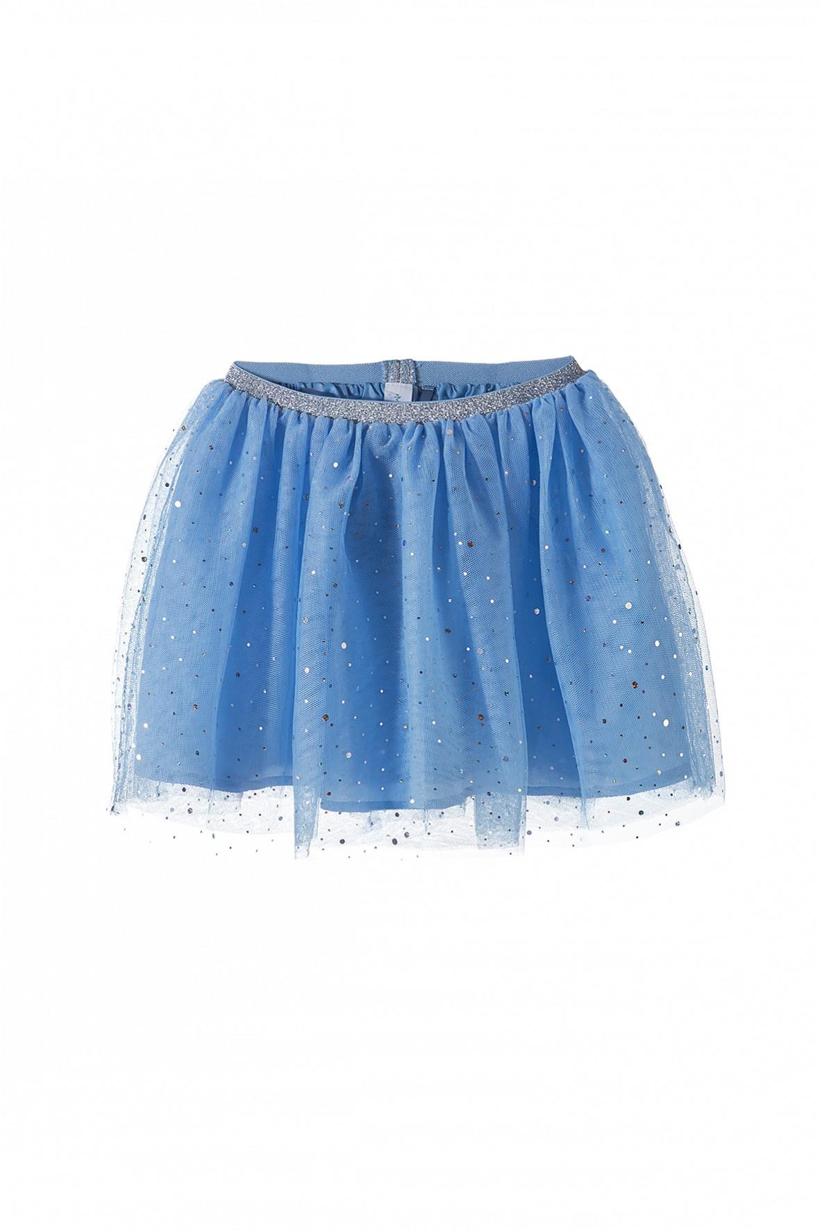 Spódnica dziewczęca tiulowa z cekinkami
