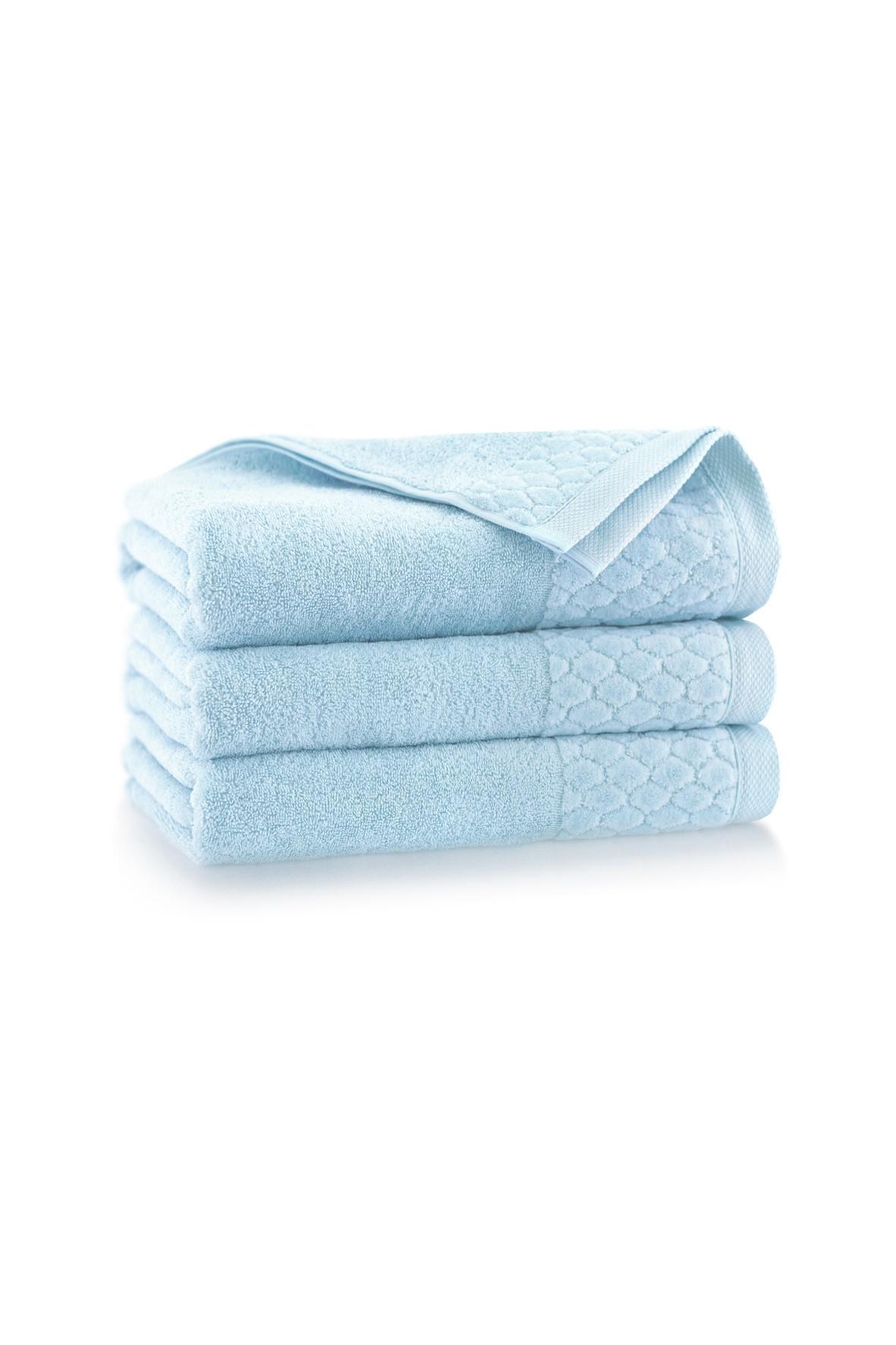 Ręcznik antybakteryjny Carlo z bawełny egipskiej świetlik - 50x100 cm