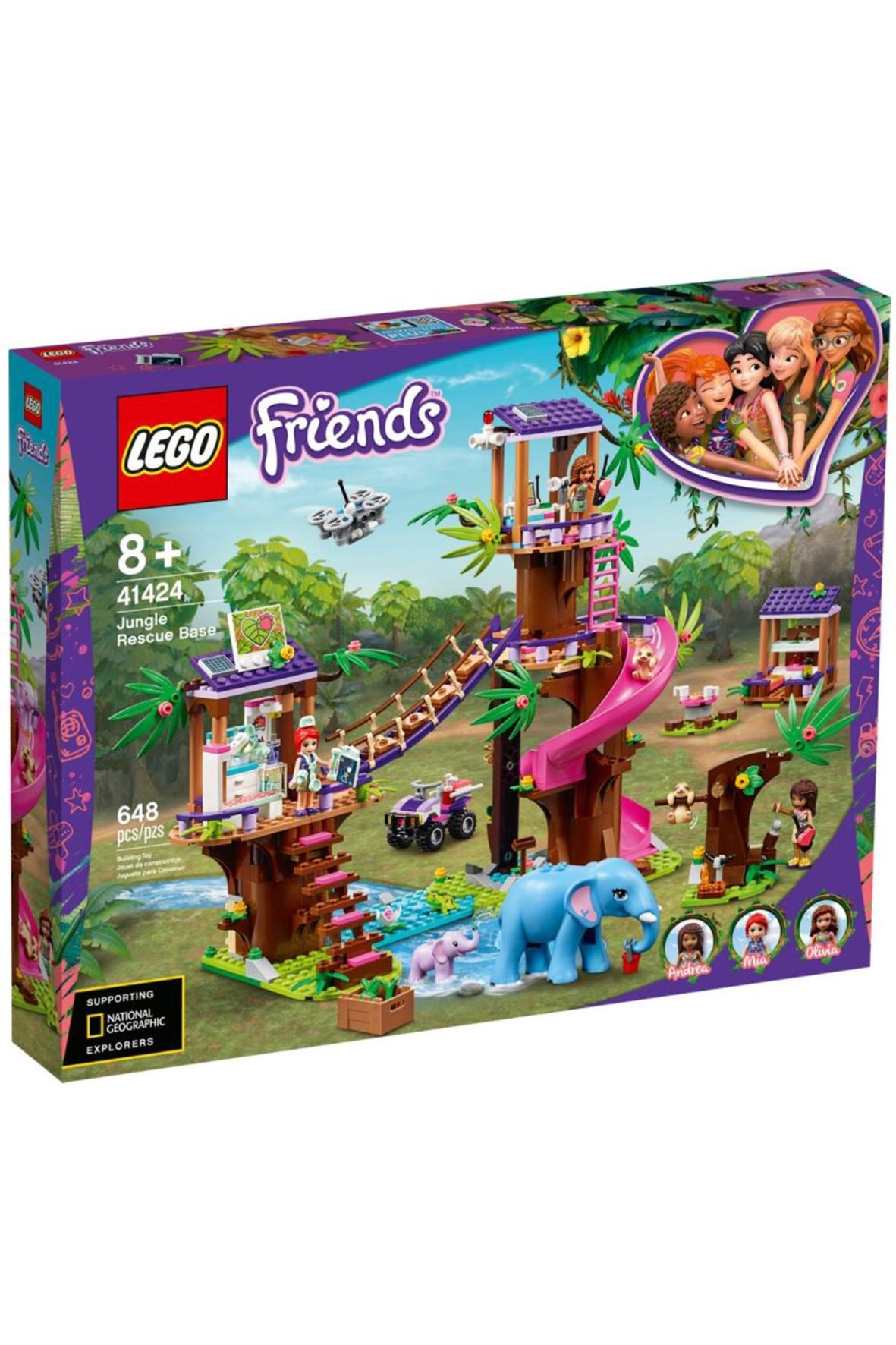 Lego Friends - Baza ratownicza - 648 elementy wiek 8+