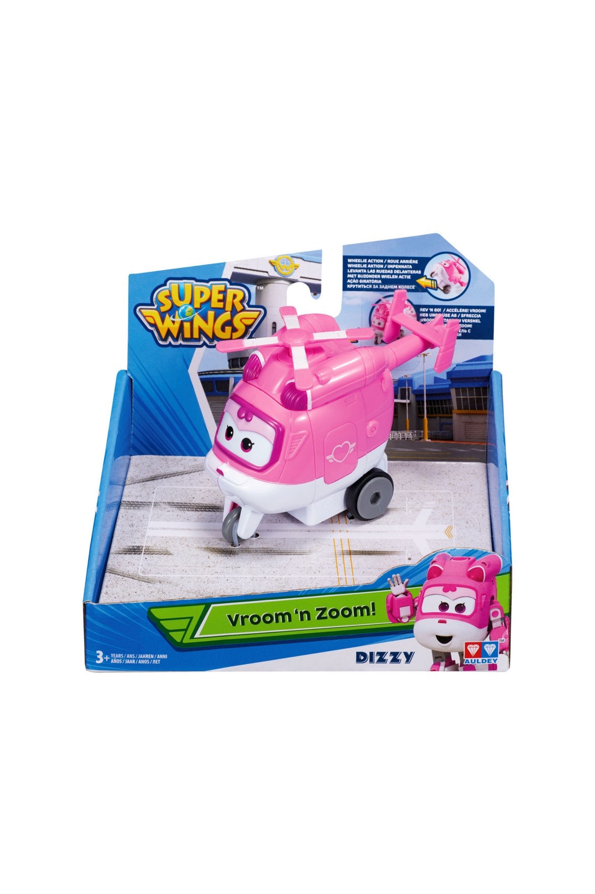 Super Wings pojazd Dizzy