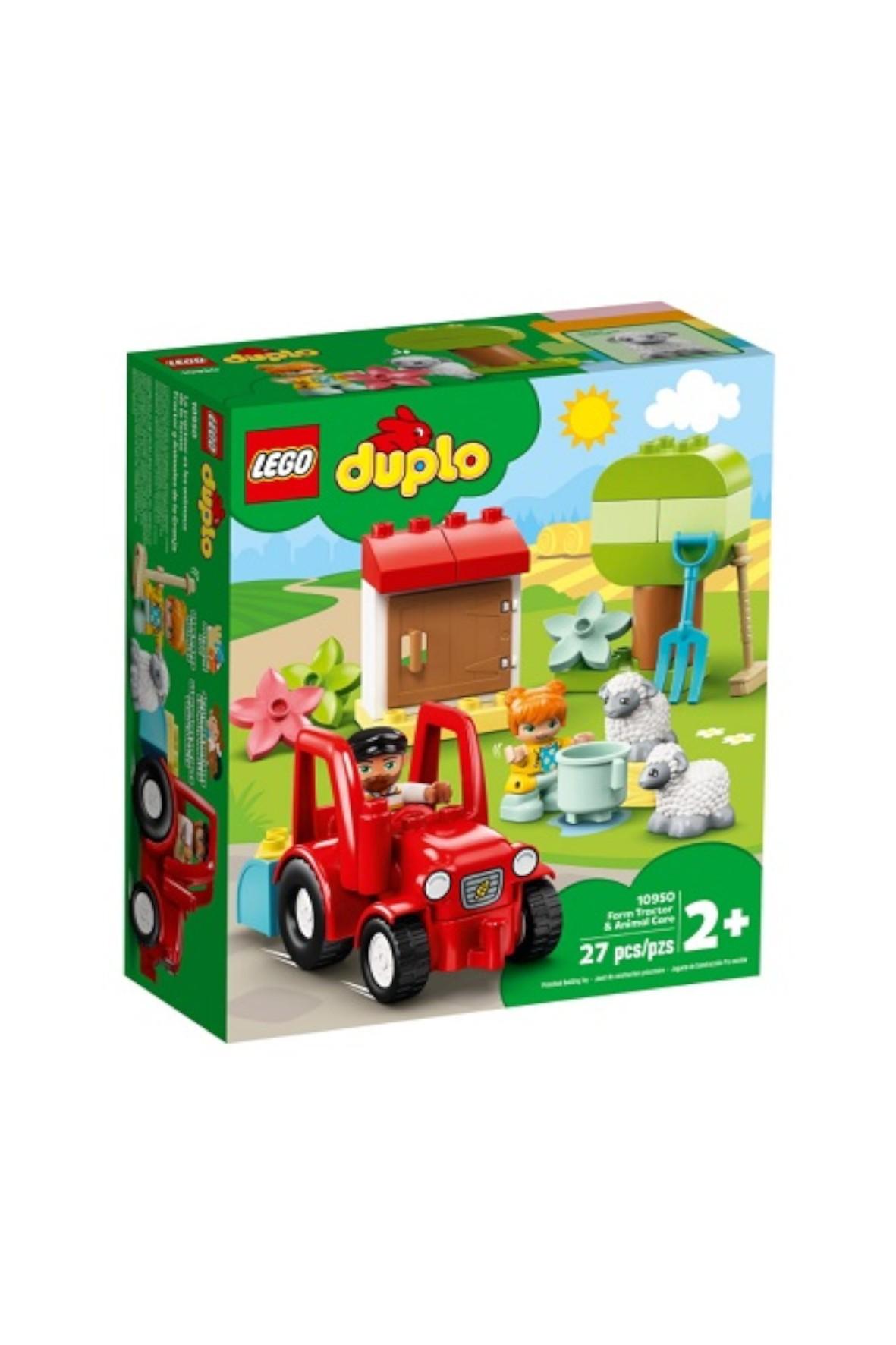 Lego DUPLO - Traktor i zwierzęta gospodarskie -  27 el wiek 2+