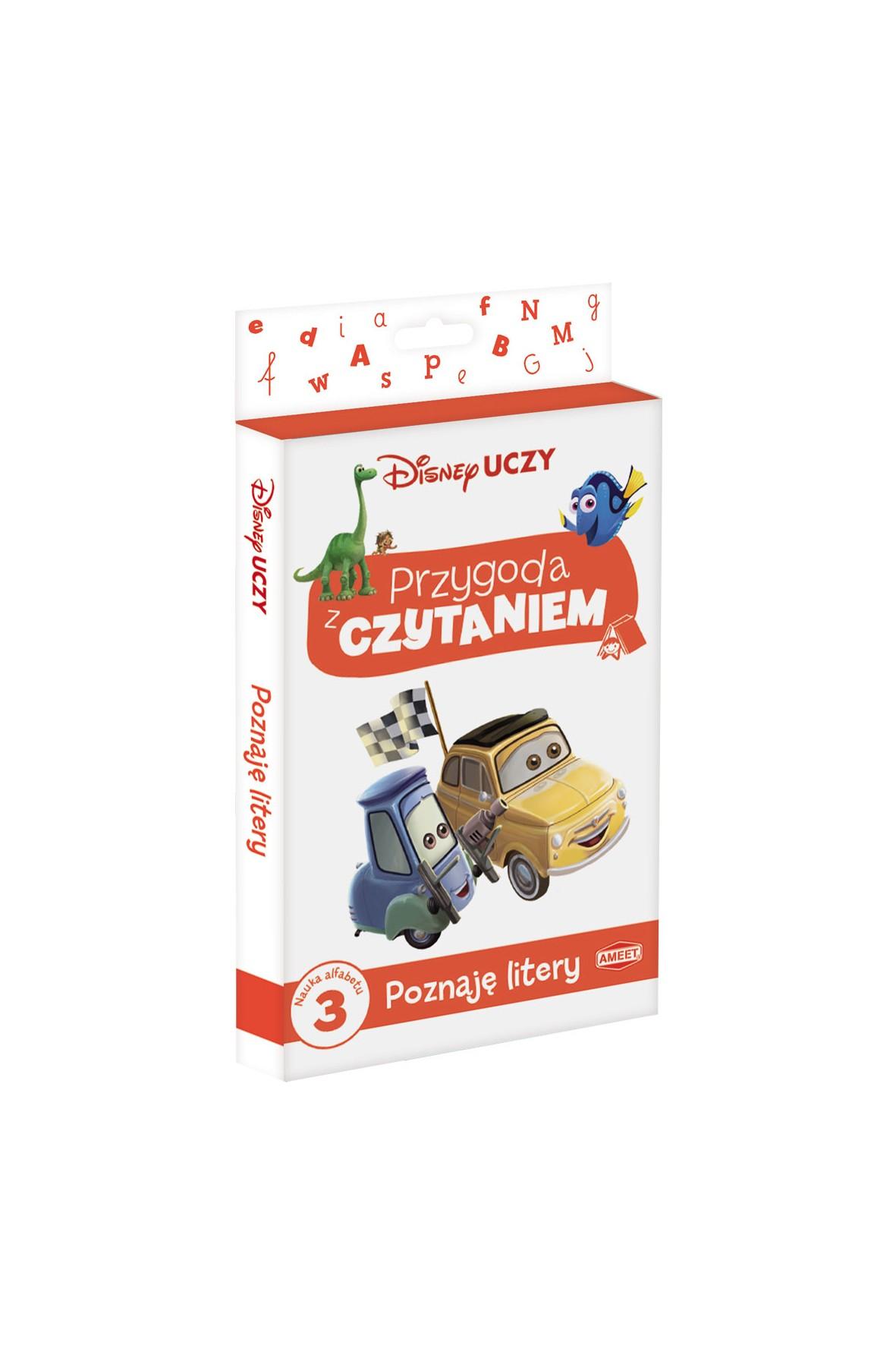 """Disney Uczy - Filmy """"Przygoda z Czytaniem, Poznaję litery"""""""