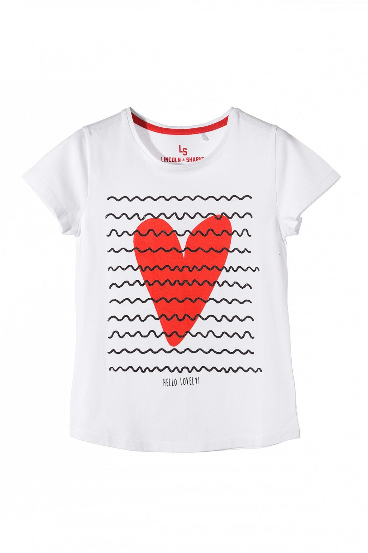 T-shirt dziewczęcy 4I3409