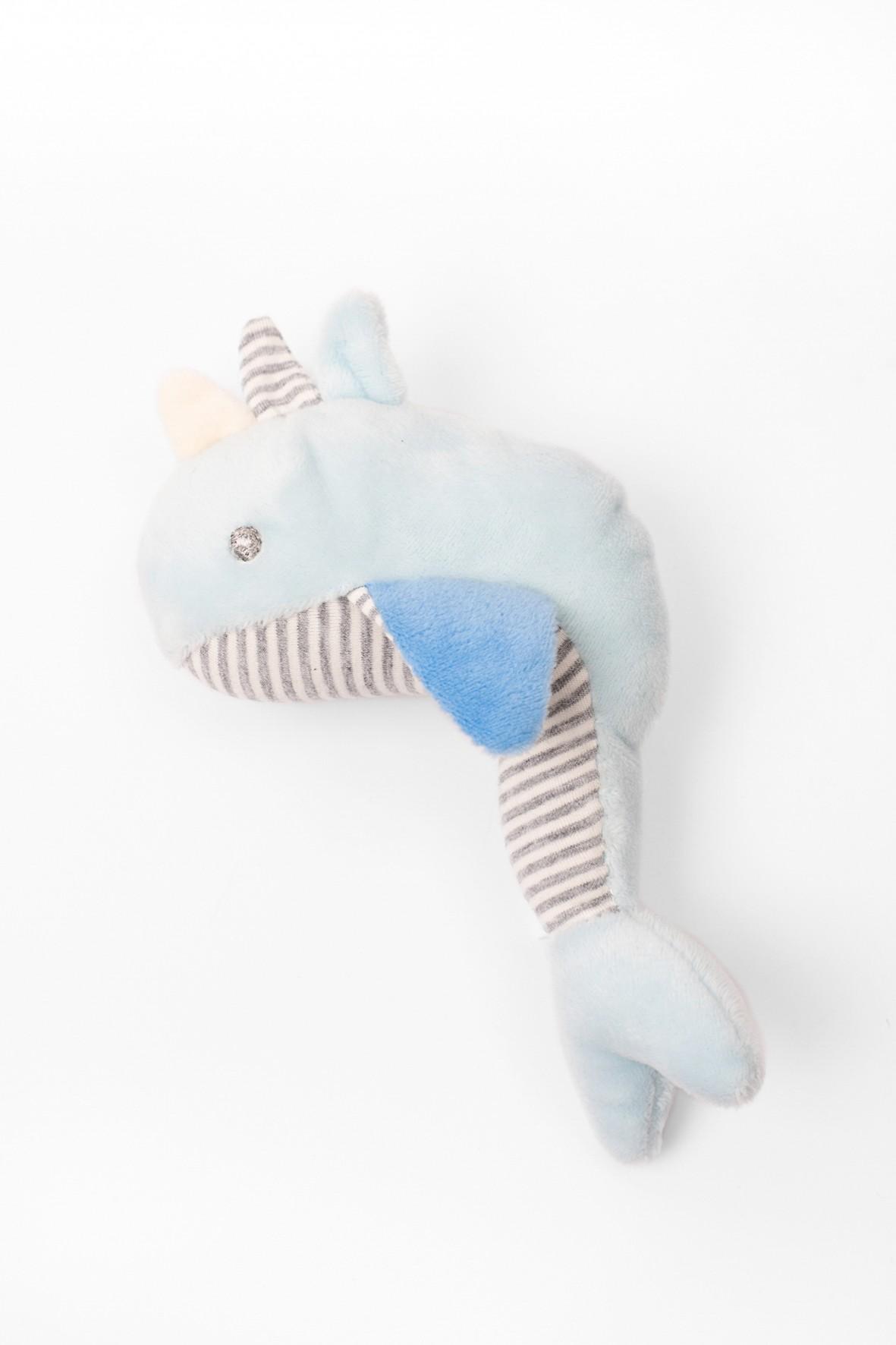 Przytulanka niemowlęca niebieska