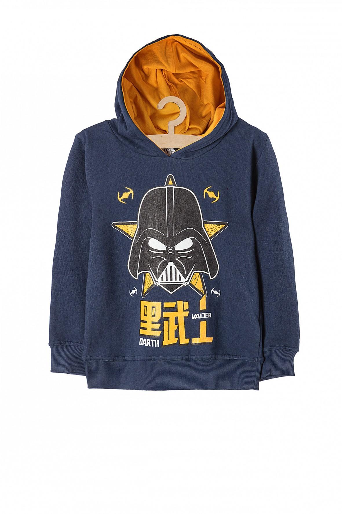 Bluza chłopięca nierozpinana Star Wars granatowa