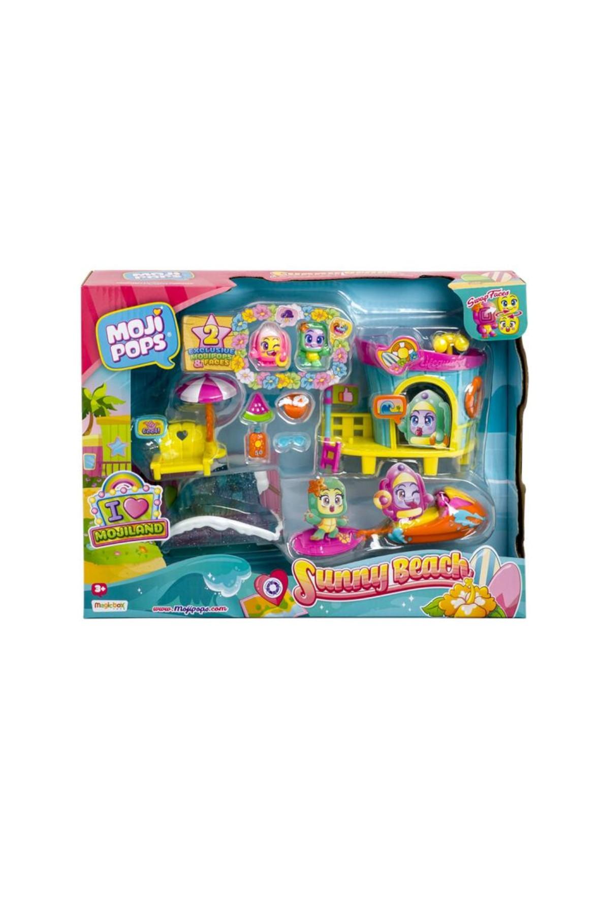 MojiPops I Love Sunny Beach  - figurki Magic Box wiek 3+