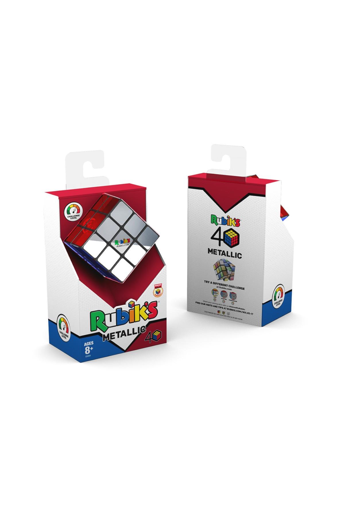 Kostka Rubika   3x3 Metalik wiek 8+