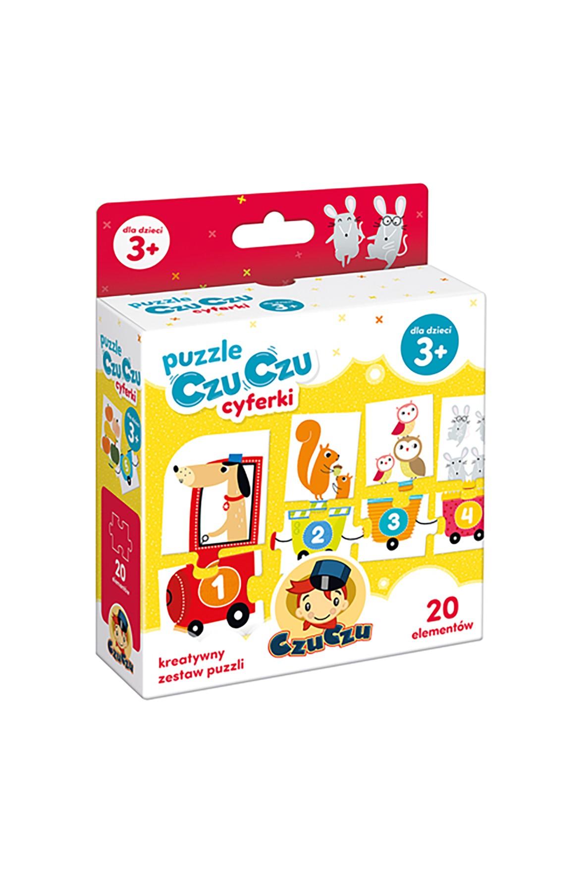 Puzzle Czuczu cyferki 20el 3+