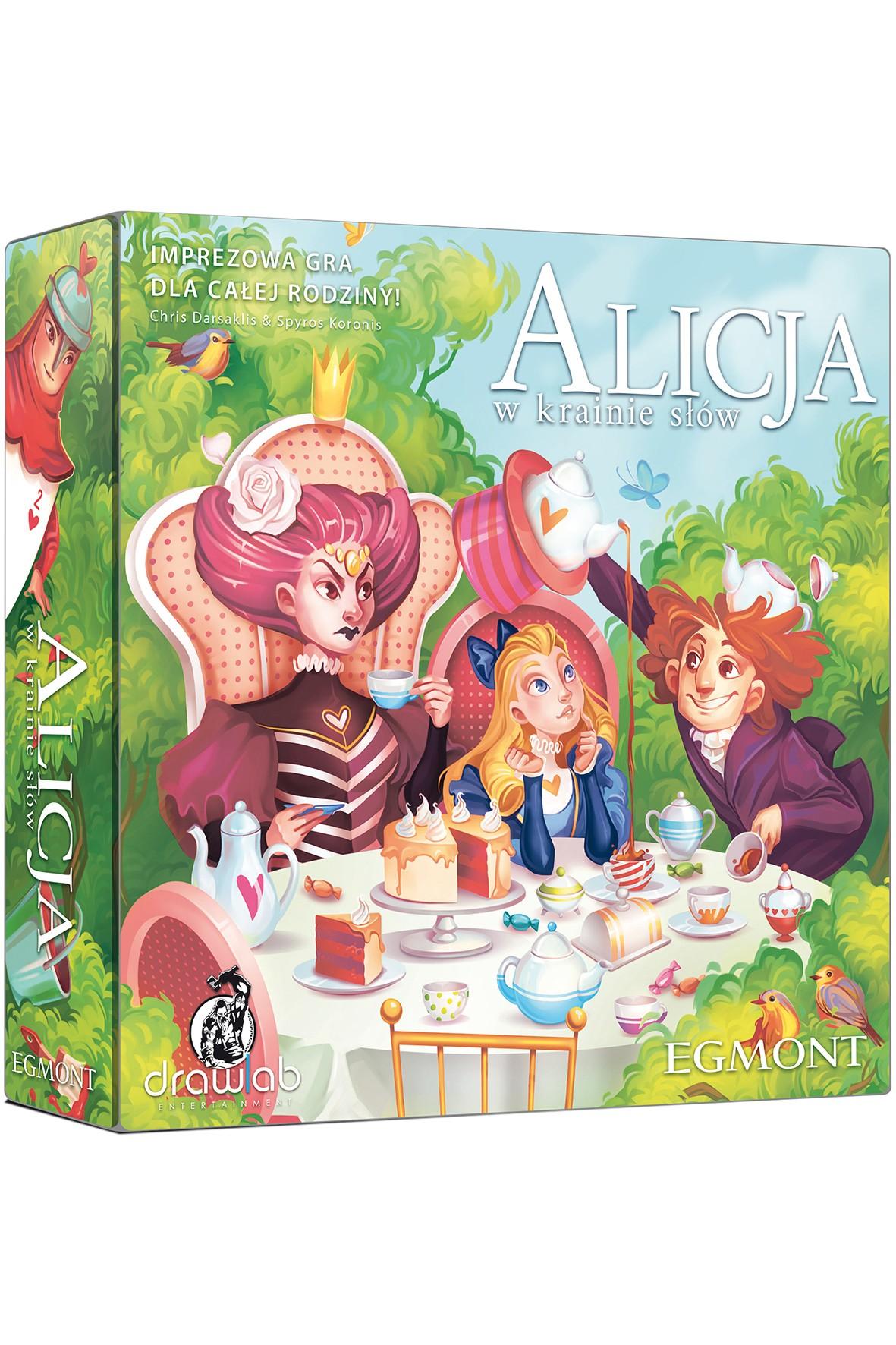 Gry rodzinna - Alicja w krainie słów wiek 10+