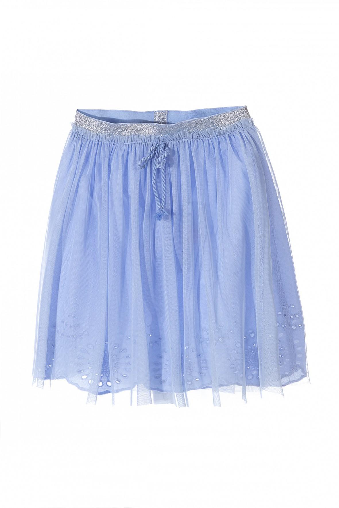 Spódnica tiulowa dziewczęca niebieska