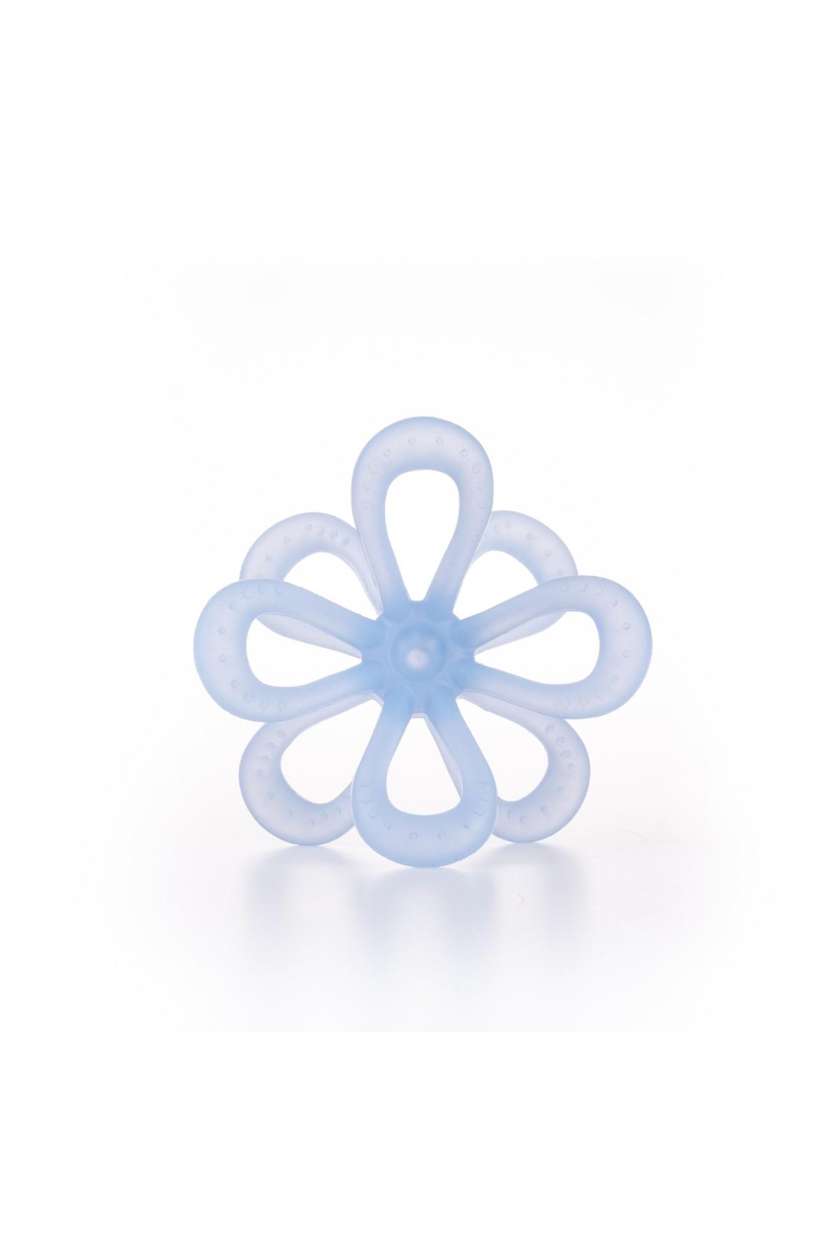 Gryzak uspokajający kwiatek GiliGums - niebieski - 3msc+