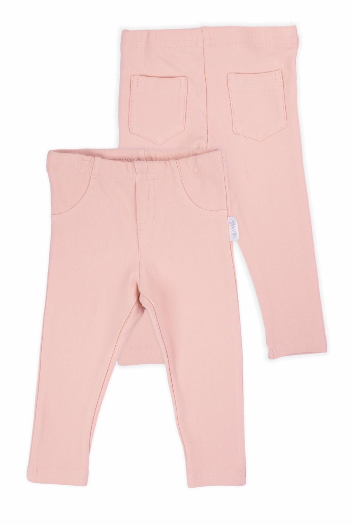 Spodnie dresowe w kolorze pudrowego różu