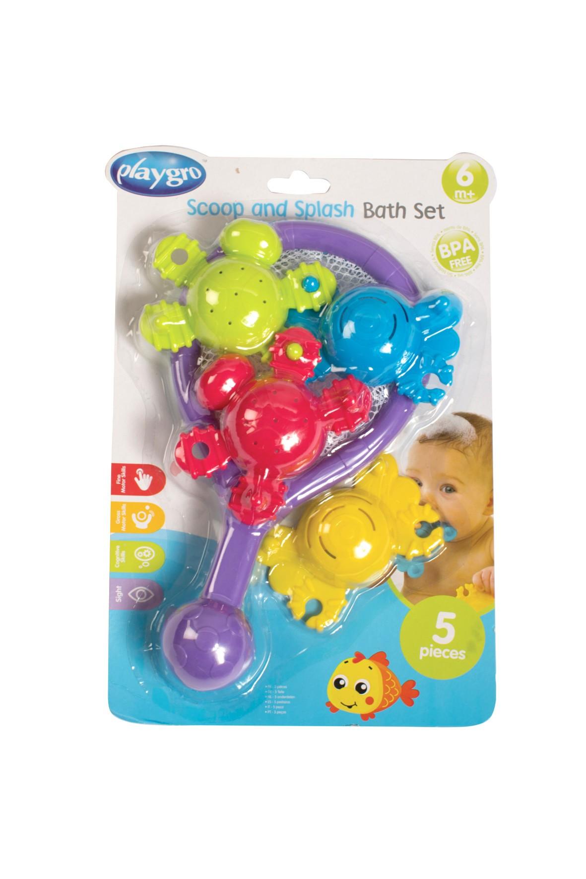 Zestaw zabawek do kąpieli Playgro