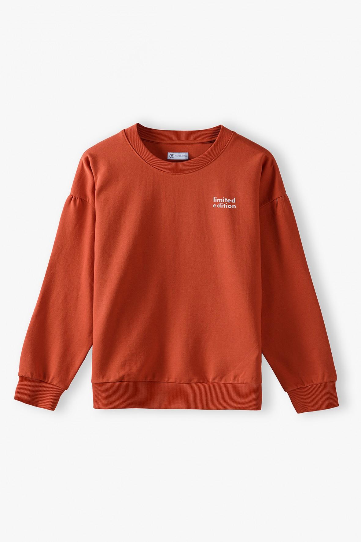 Czerwona bluza dresowa damska -  Limited Edition