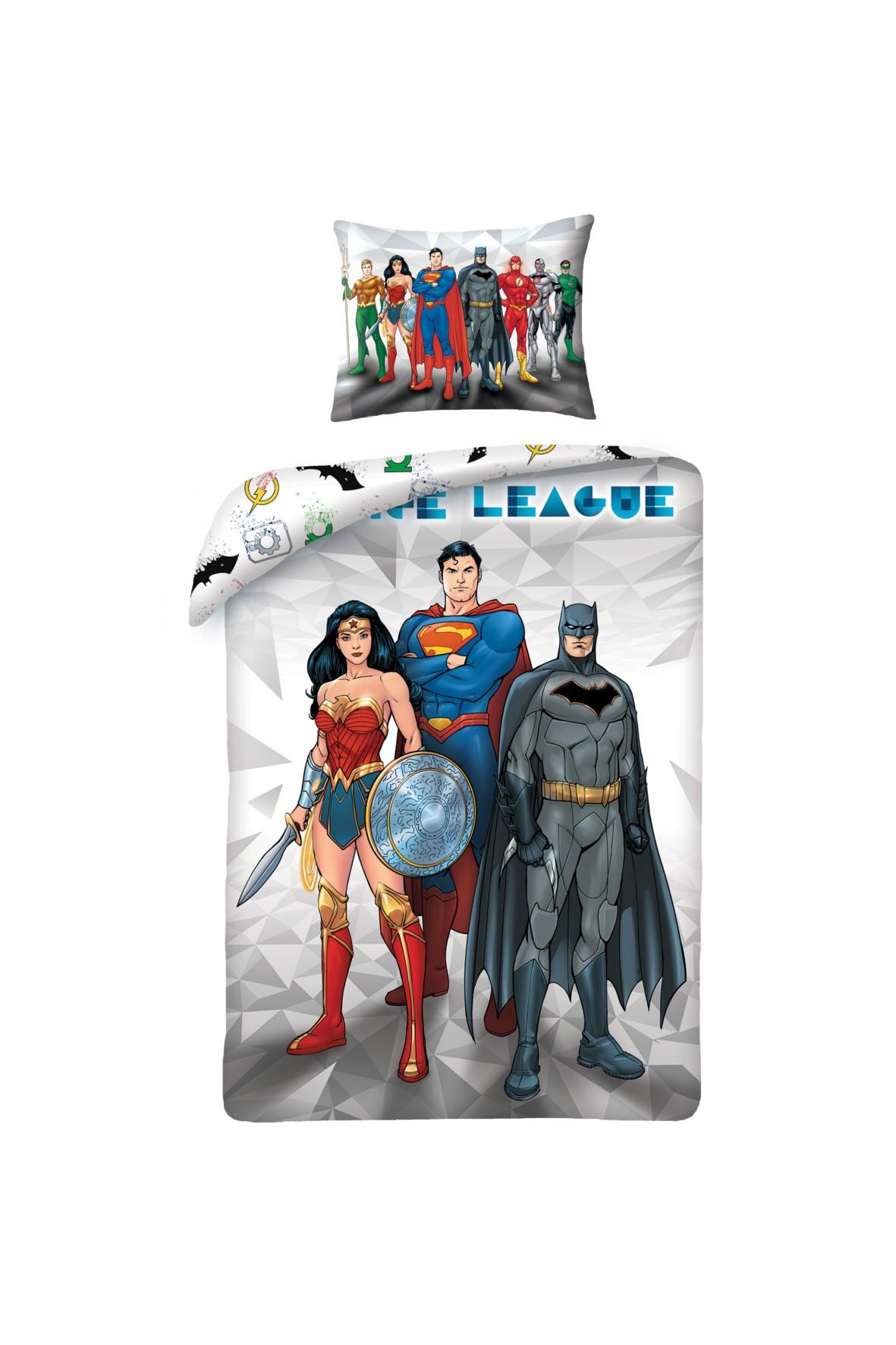 Pościel Justice League 140x200 cm