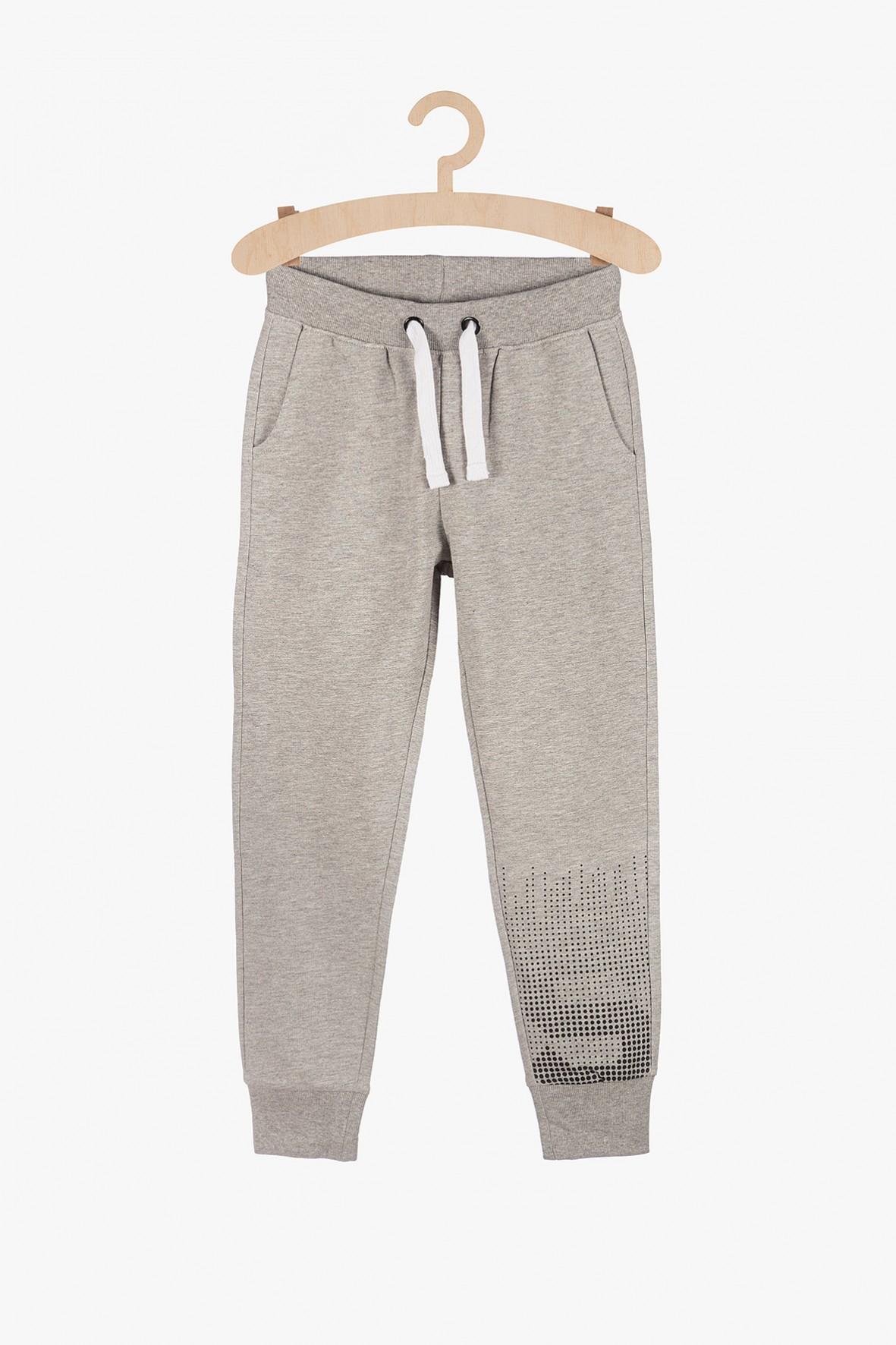Spodnie dresowe chłopięce - szare