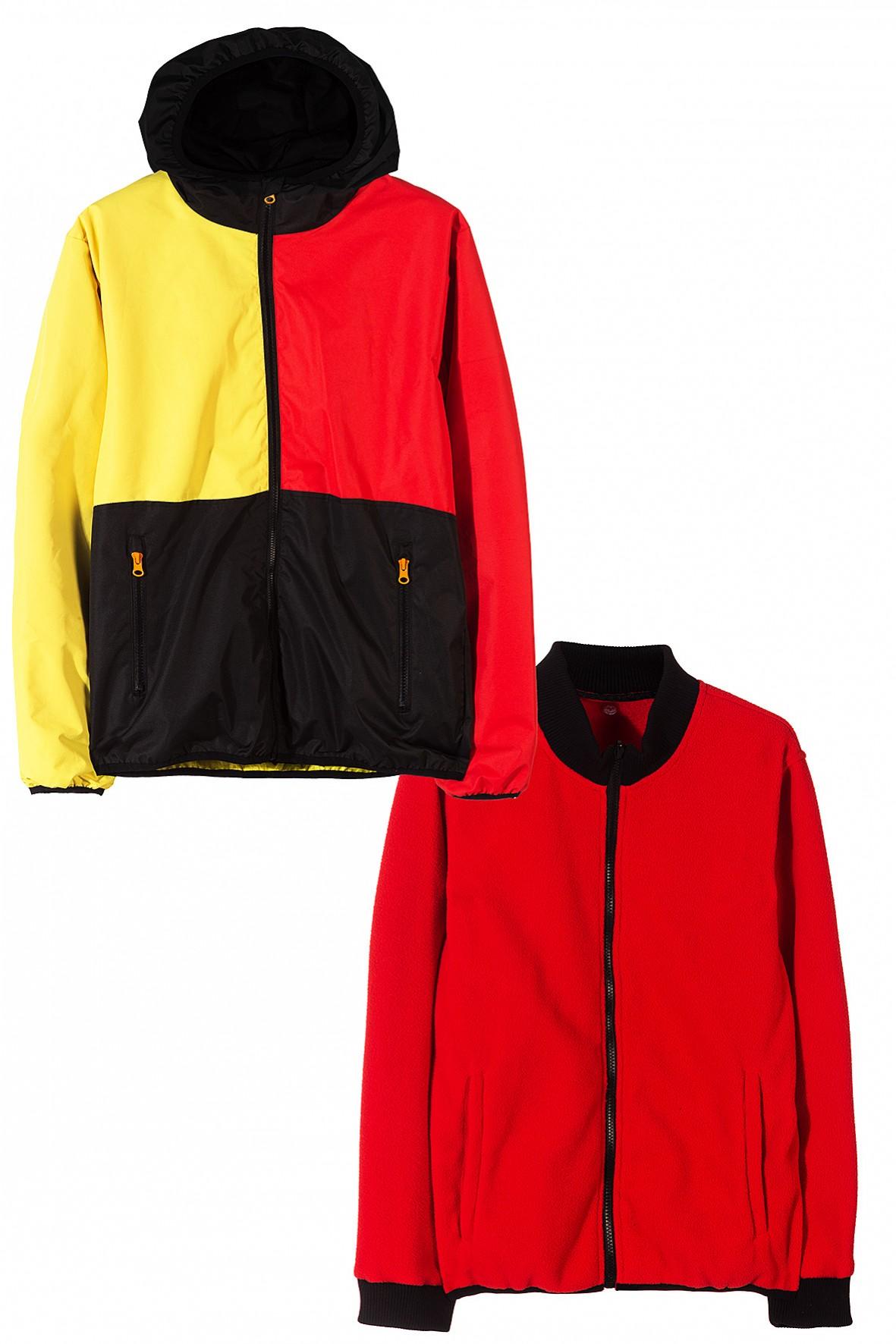 Kurtka chłopięca 3w1- kurtka z odpinana bluzą