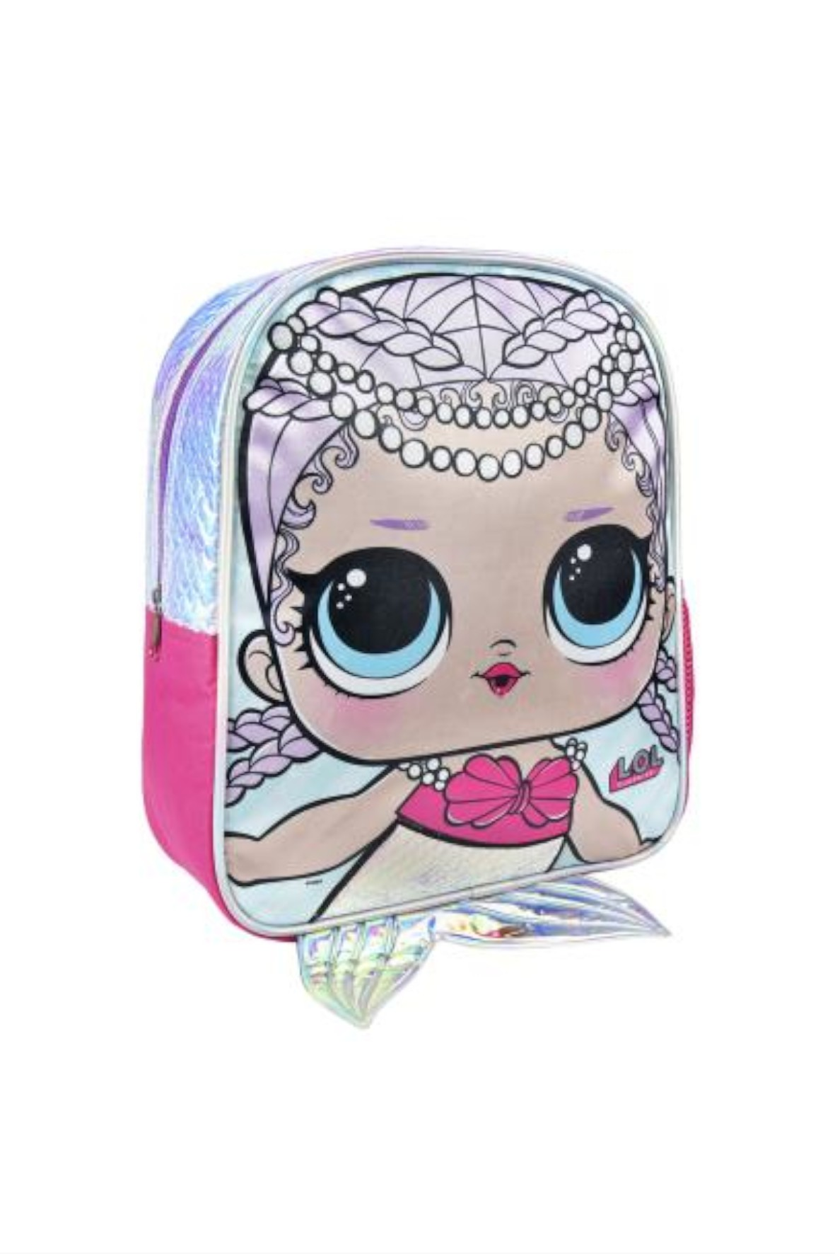 Plecak dziewczęcy LOL Surprise-niebieski
