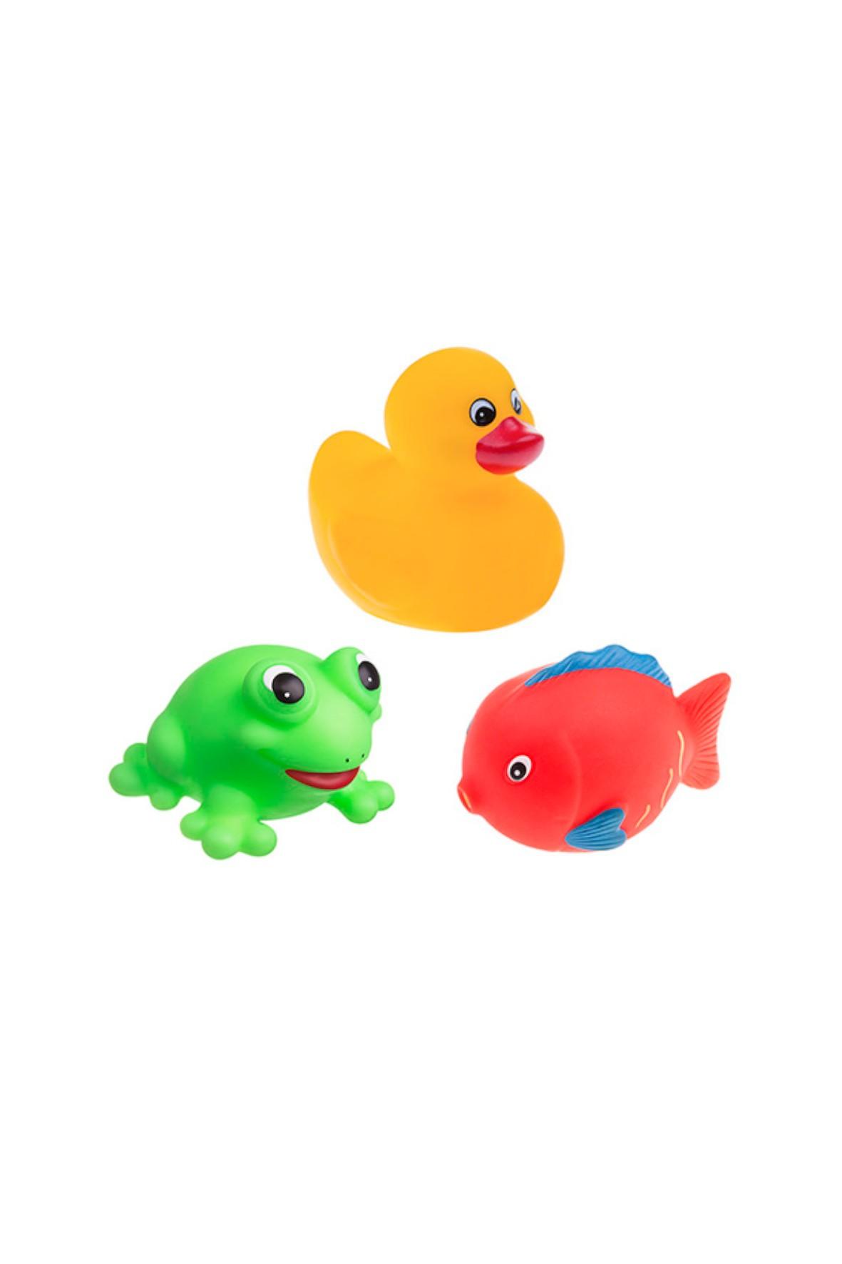 Zabawki kąpielowe- zwierzątka do kąpieli 3 szt