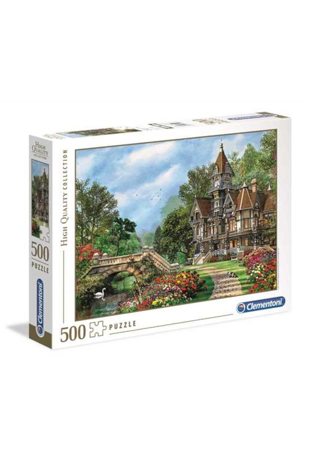 Puzzle Stary dom Clementoni - 500 el