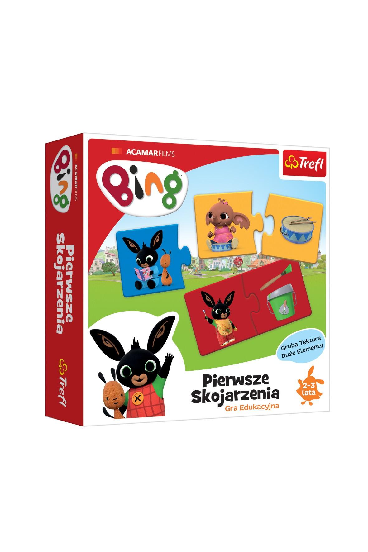 Gra- Bing Pierwsze skojarzenia wiek 2-3 lata