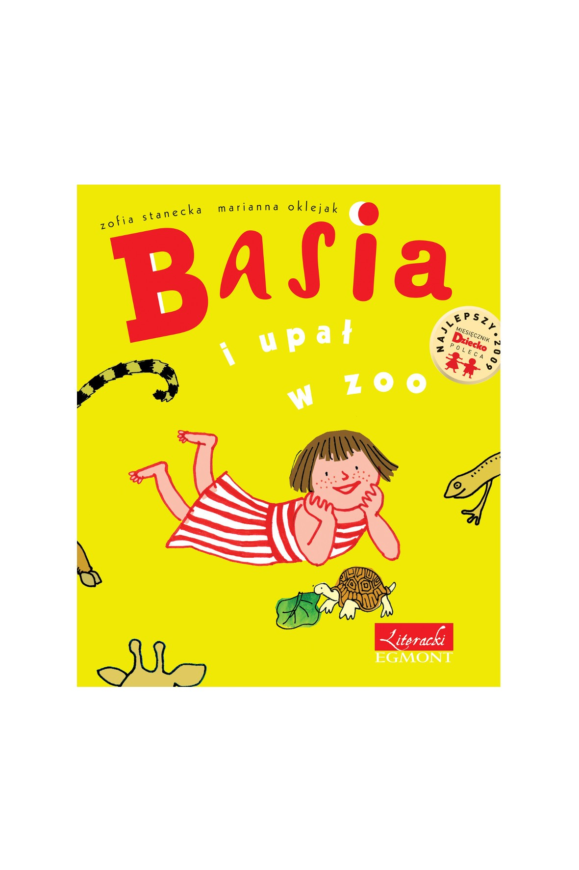 """Książka """"Basia i upał w zoo"""""""