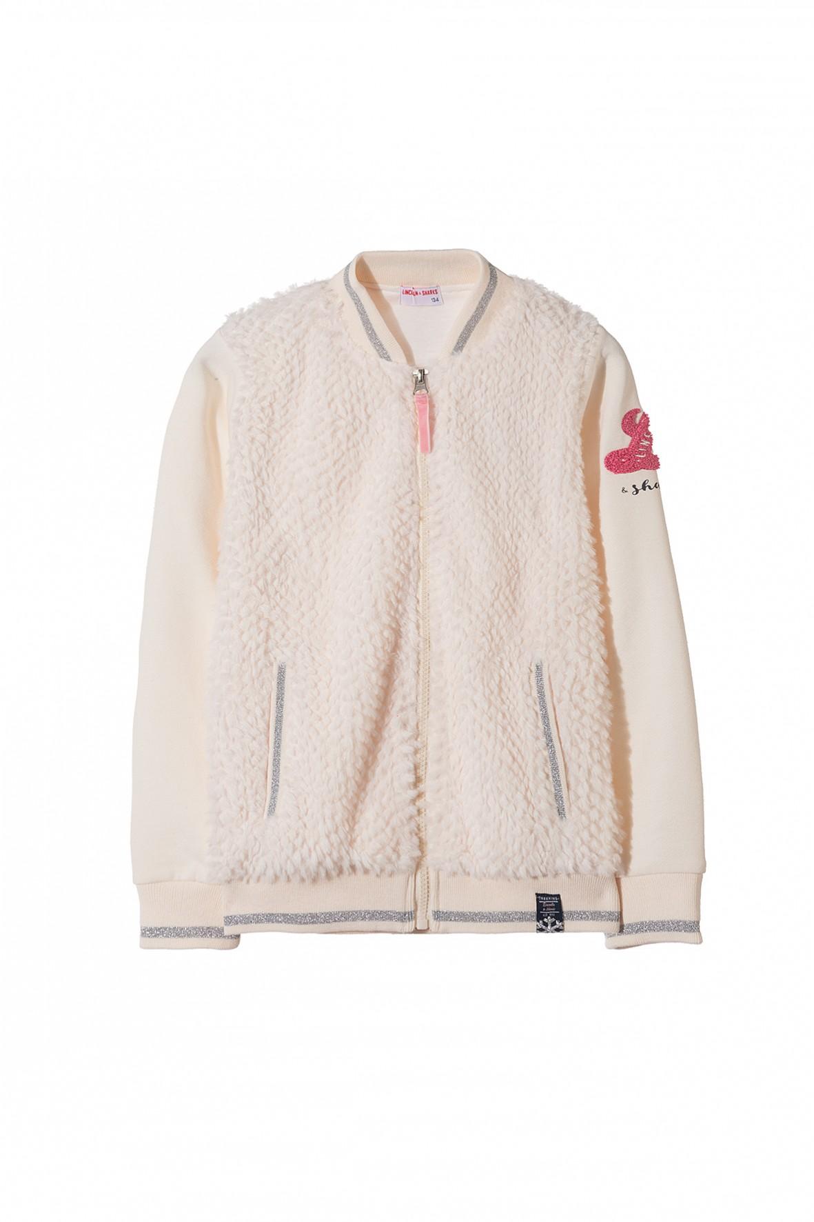 Bluza dresowa dziewczęca 4F3307