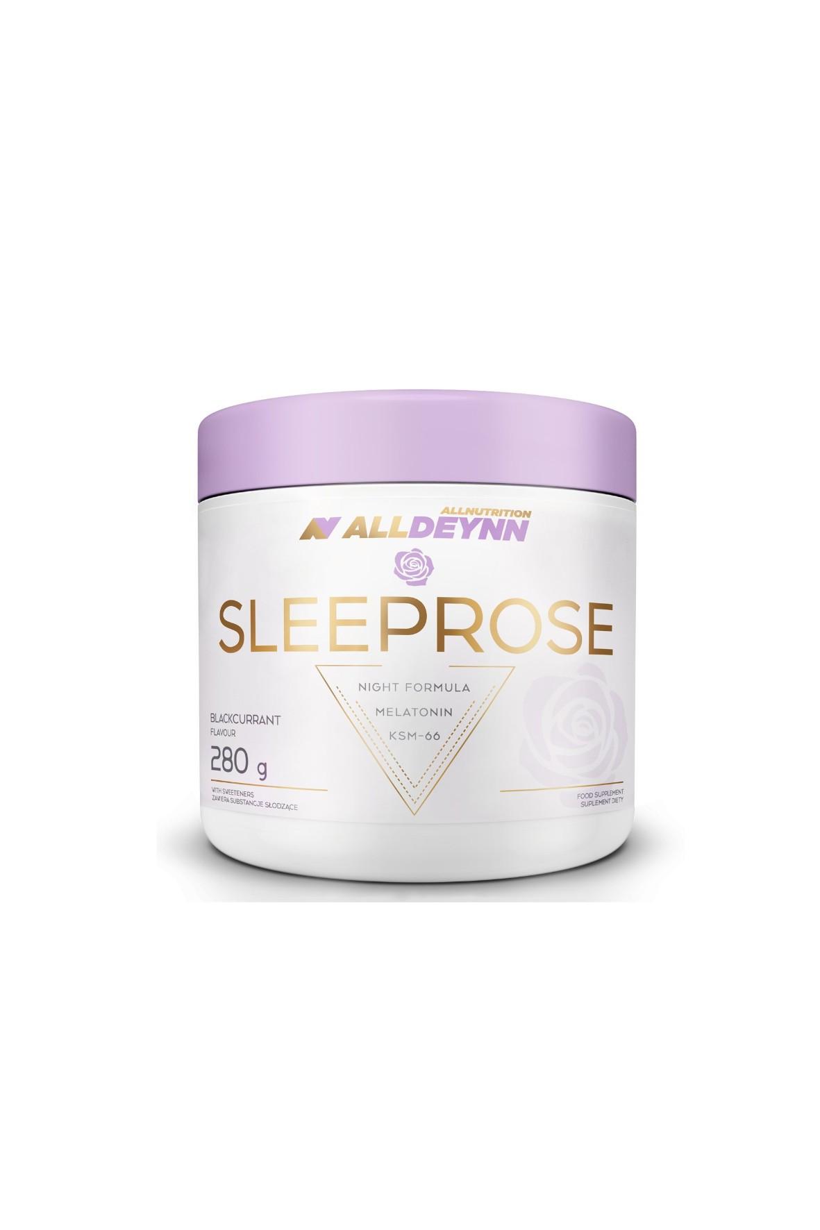 Suplementy diety - Allnutrition ALLDEYNN  Sleeprose 280 g Blackcurrant