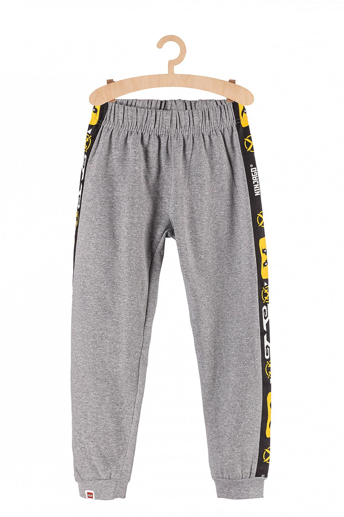 Spodnie chłopięce dresowe LEGO szare