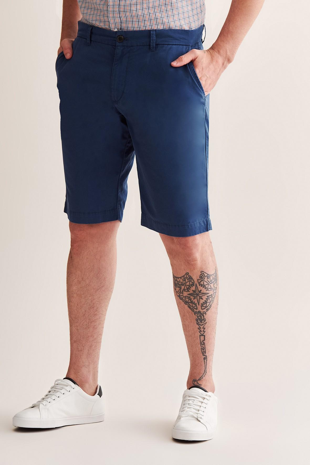Bawełniane szorty  męskie Tatuum - granatowe