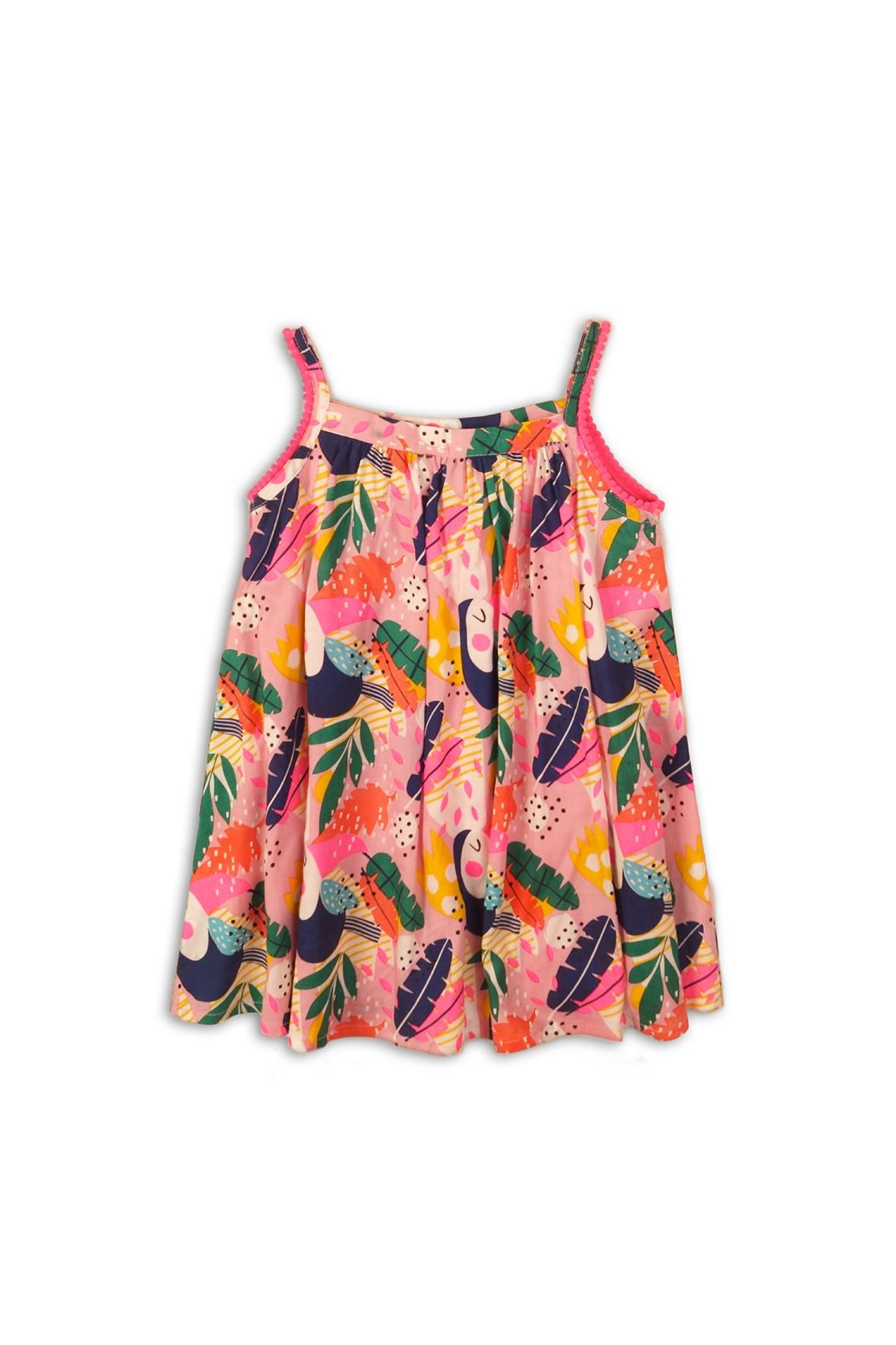 Sukienka na lato w kolorowe wzory