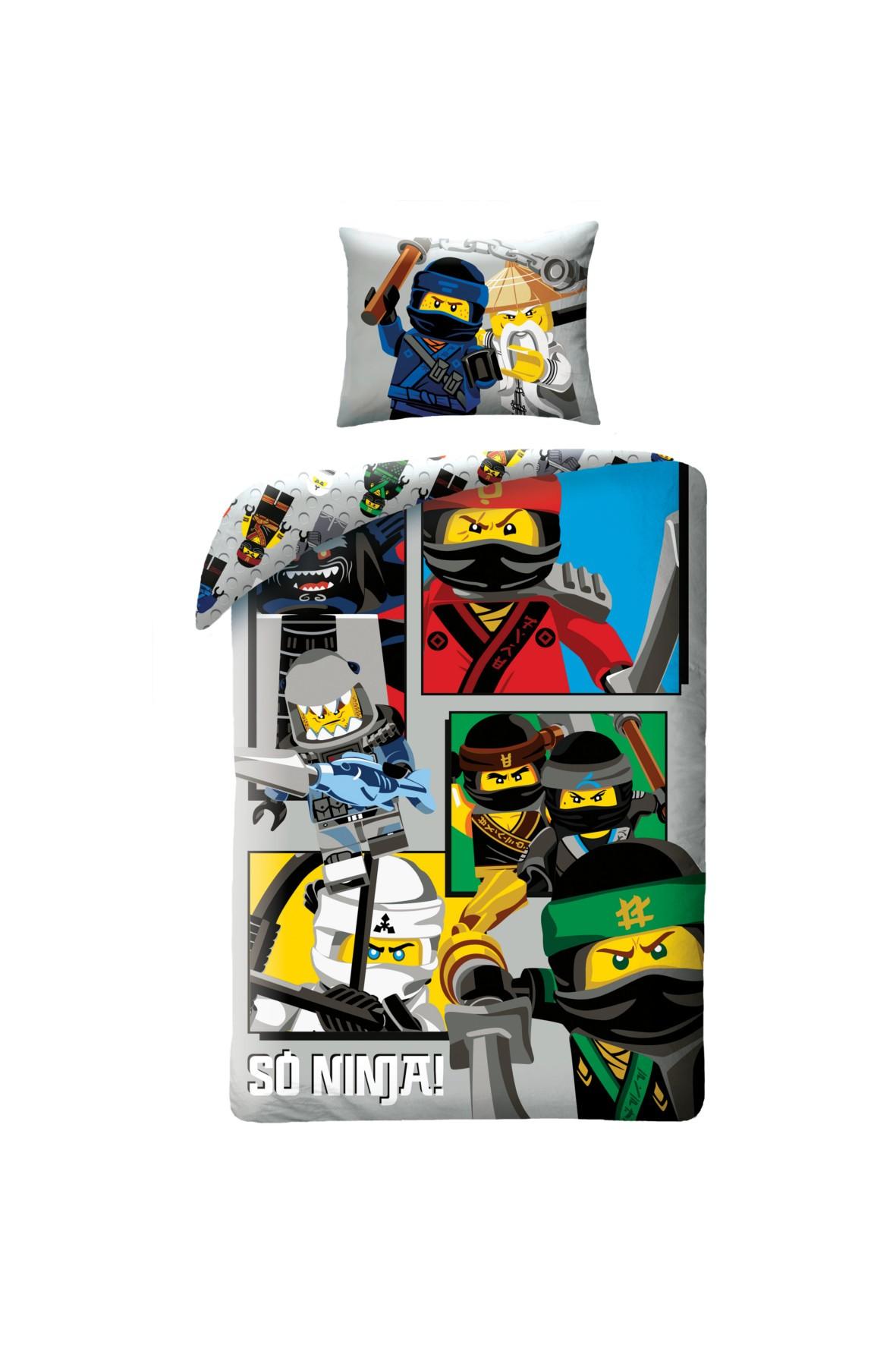 Pościel Lego Ninjago 140x200 cm