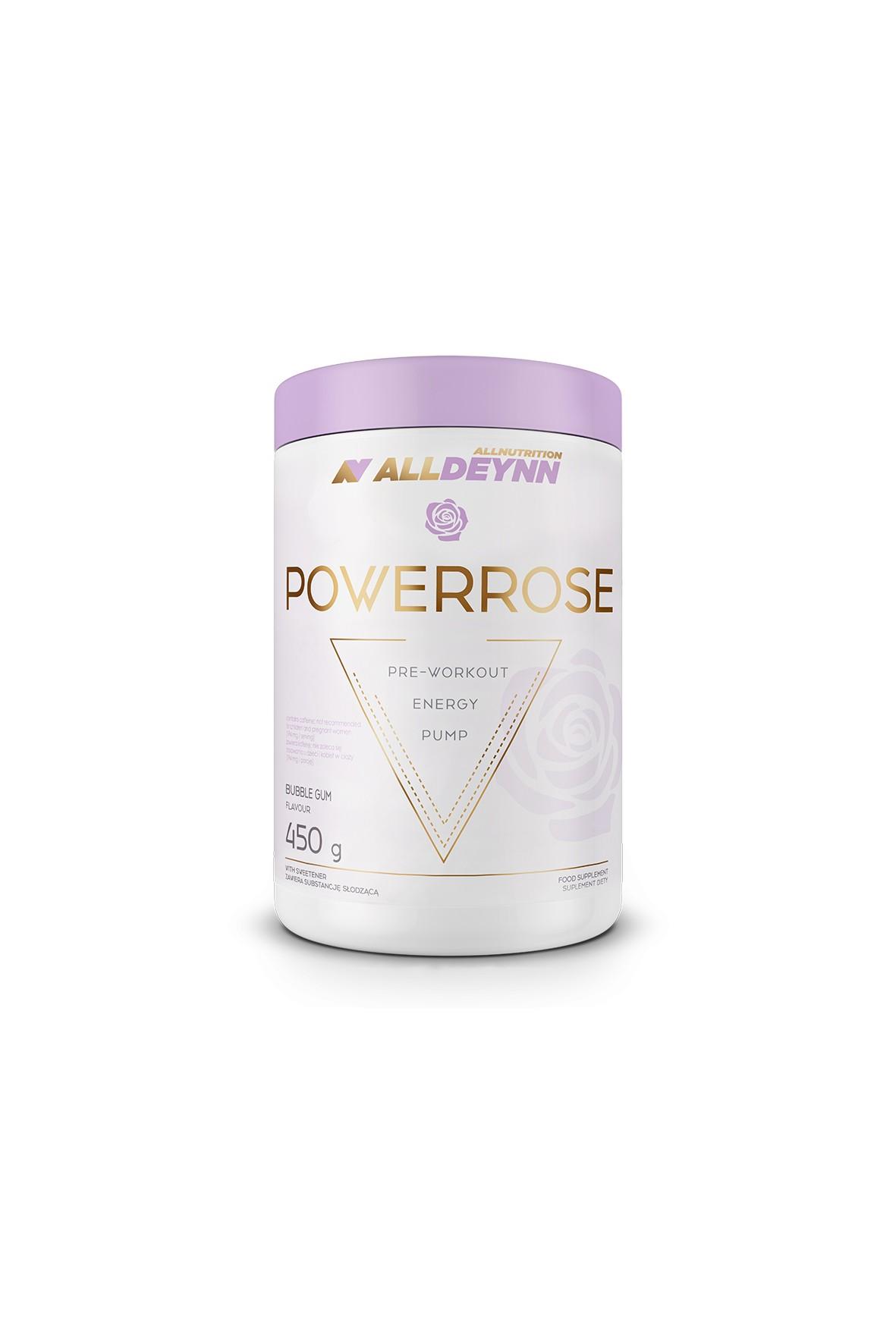 Suplementy diety - Allnutrition ALLDEYNN  Powerrose 450 g Bubble gum