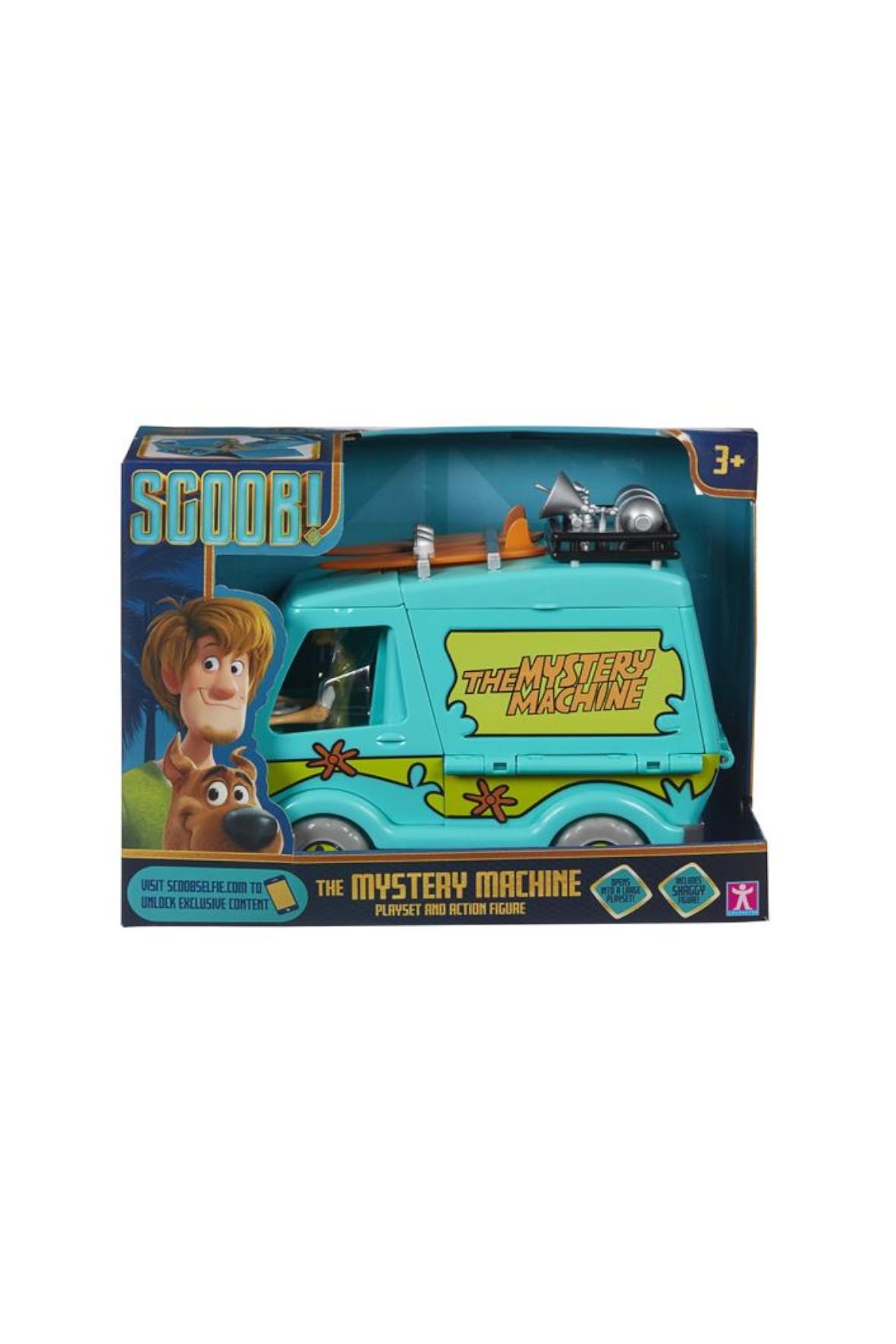 Scooby-Doo Wehikuł tajemnic + figurka Kudłaty wiek 3+