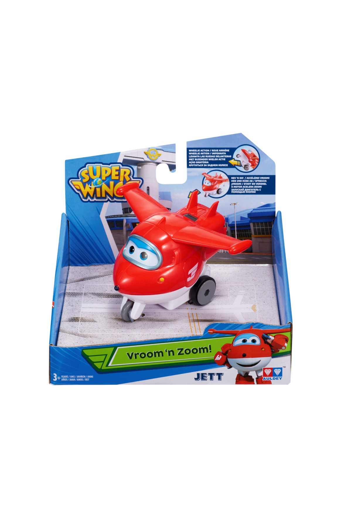 Super Wings pojazd Jett